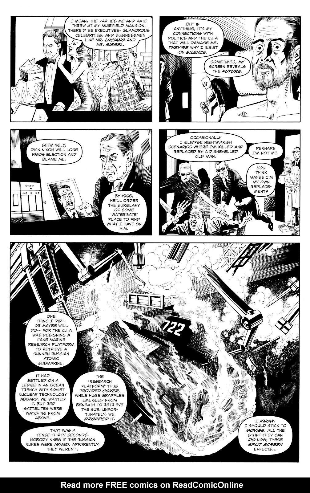 Read online Alan Moore's Cinema Purgatorio comic -  Issue #17 - 9