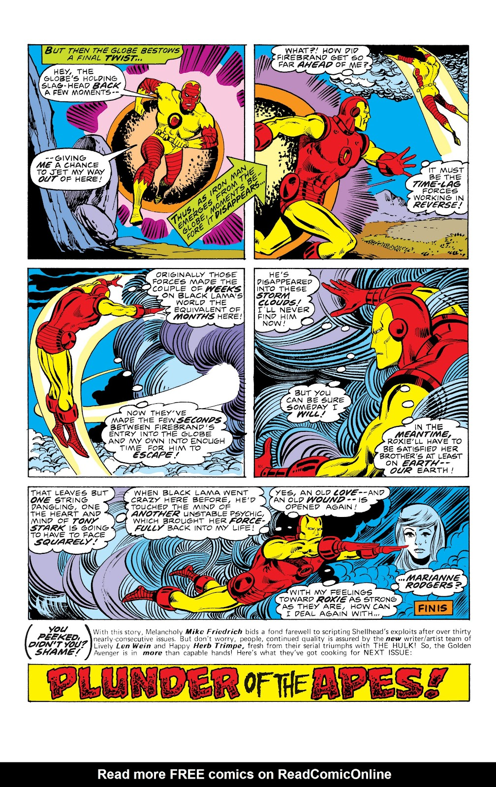 Read online Marvel Masterworks: The Invincible Iron Man comic -  Issue # TPB 10 (Part 3) - 50