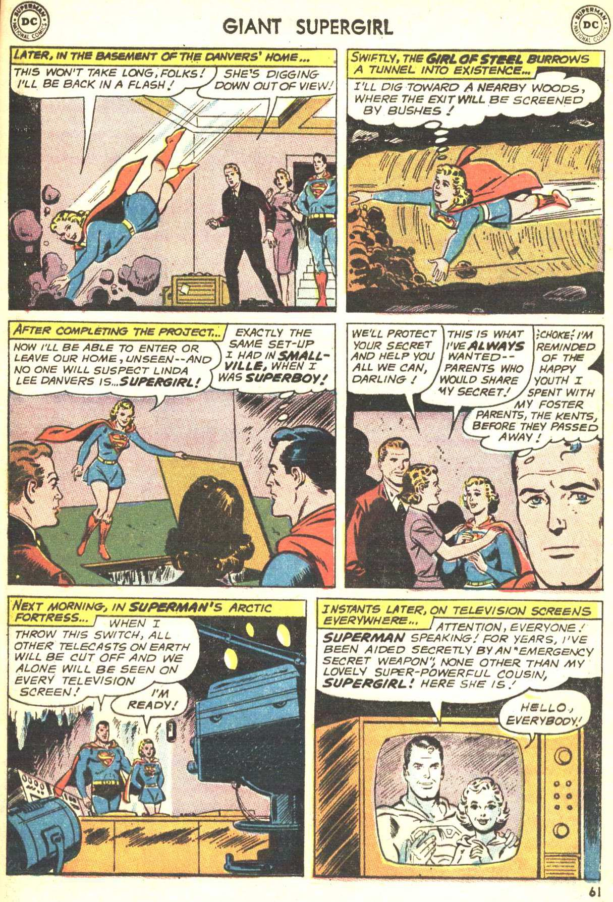 Read online Action Comics (1938) comic -  Issue #360 - 60