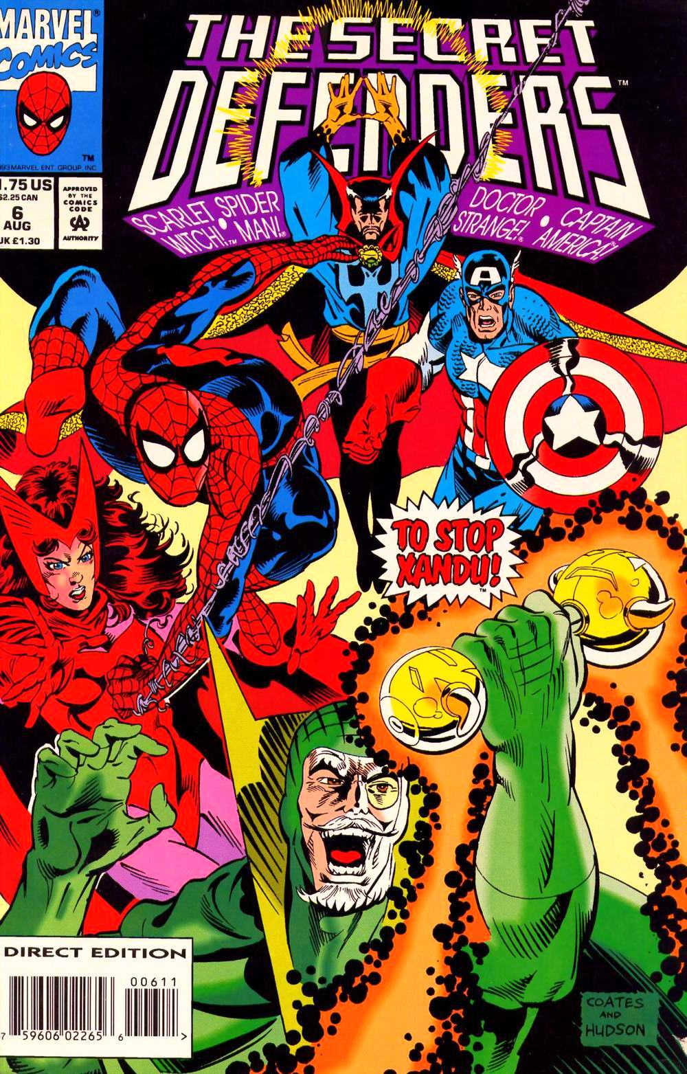 Read online Secret Defenders comic -  Issue #6 - 1