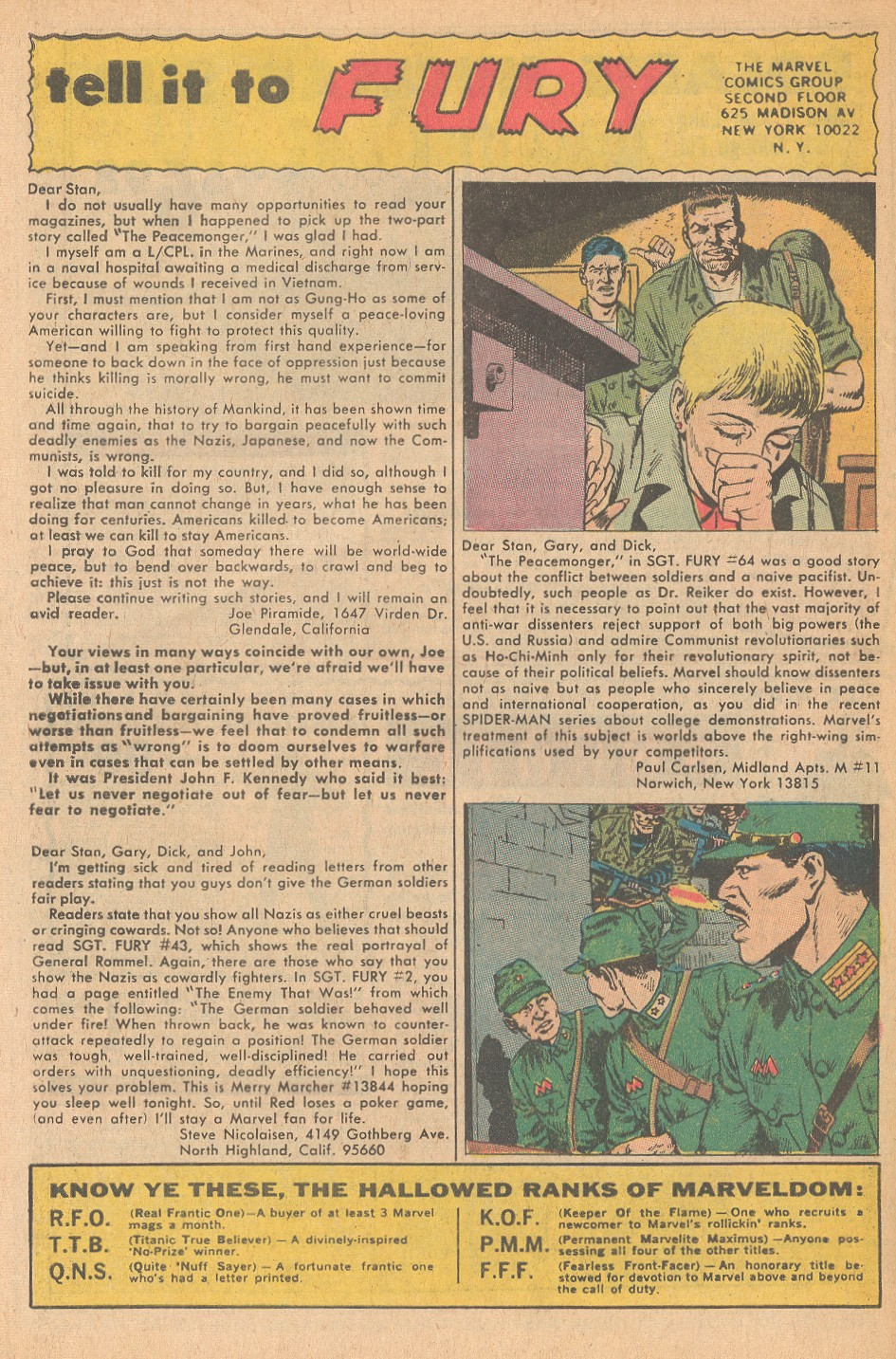 Read online Sgt. Fury comic -  Issue #68 - 32