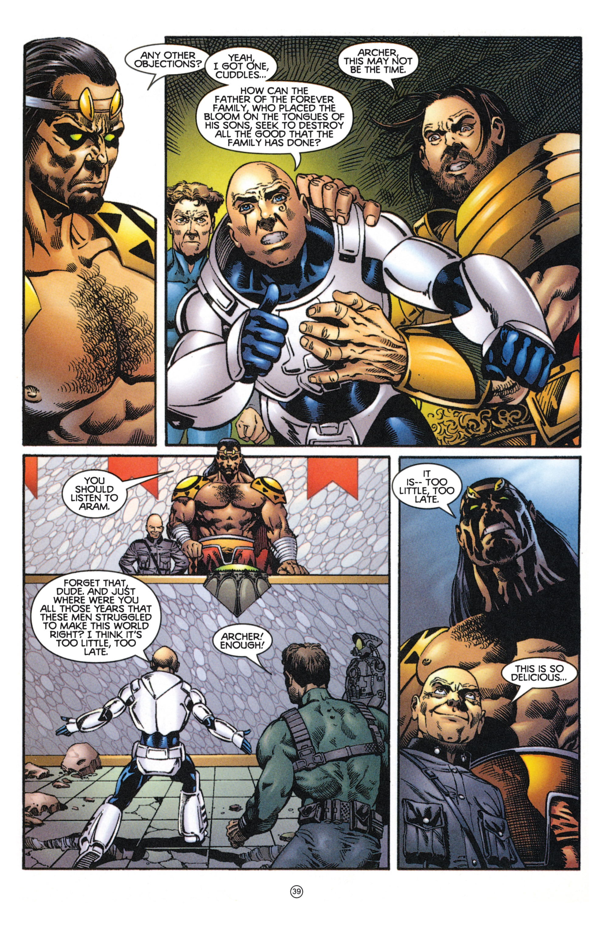 Read online Eternal Warriors comic -  Issue # Issue Mog - 34