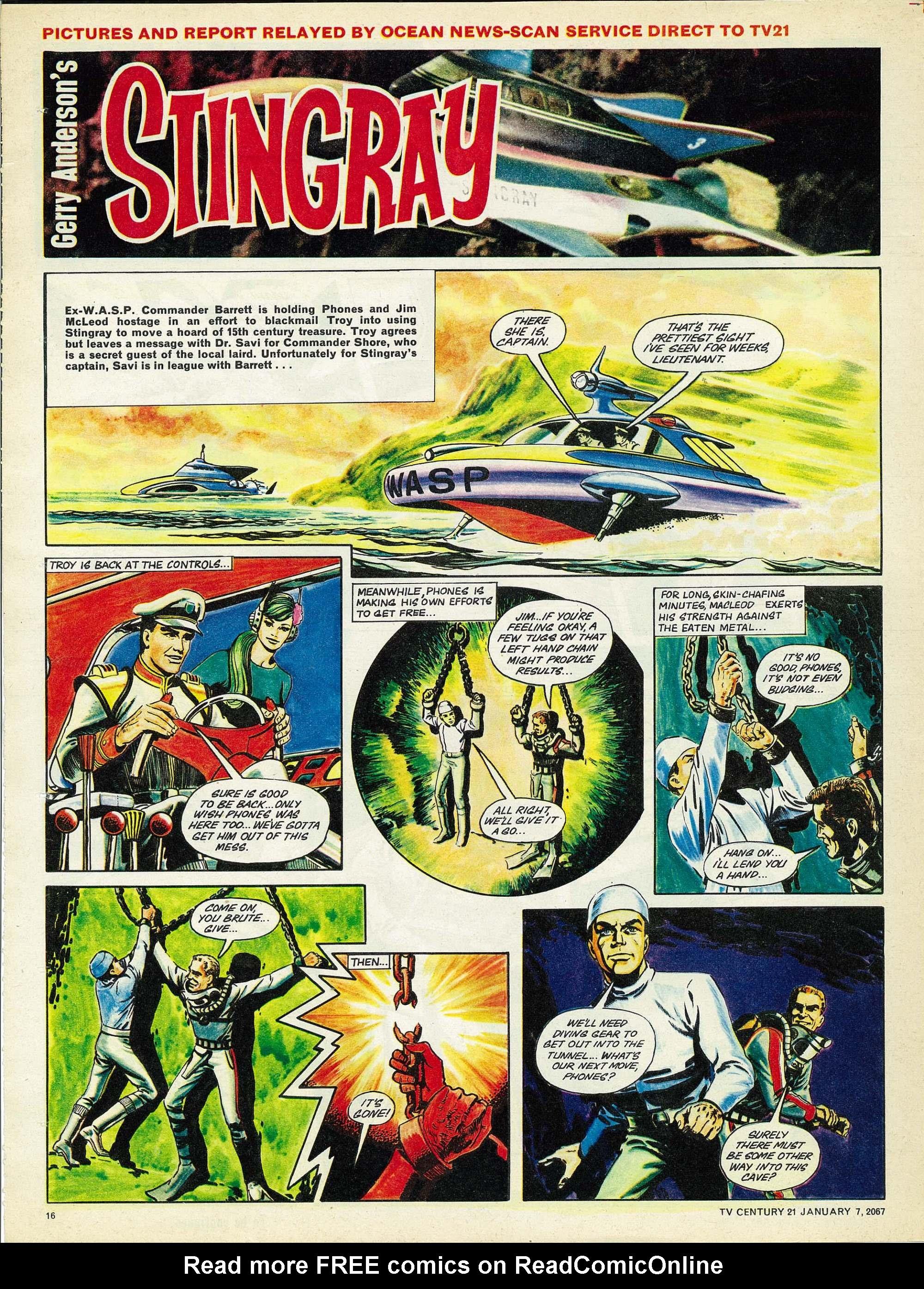Read online TV Century 21 (TV 21) comic -  Issue #103 - 15