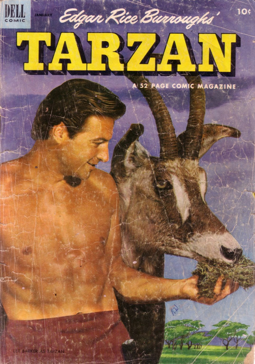 Tarzan (1948) issue 40 - Page 1