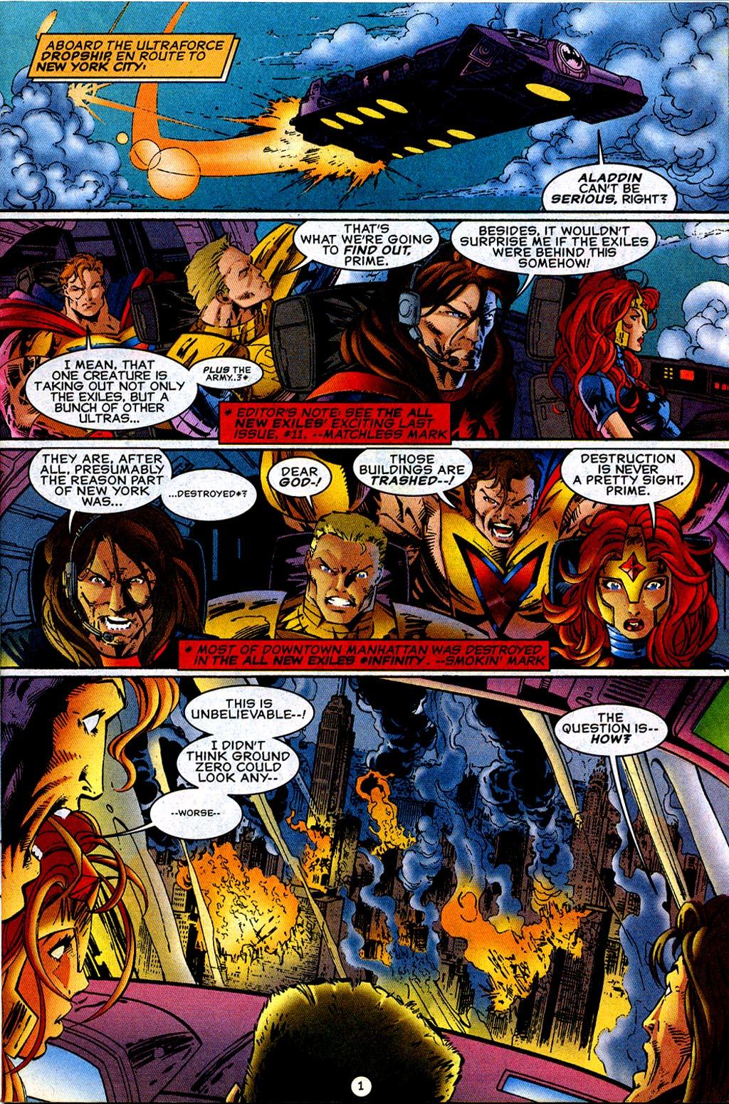 Read online UltraForce (1995) comic -  Issue #12 - 2