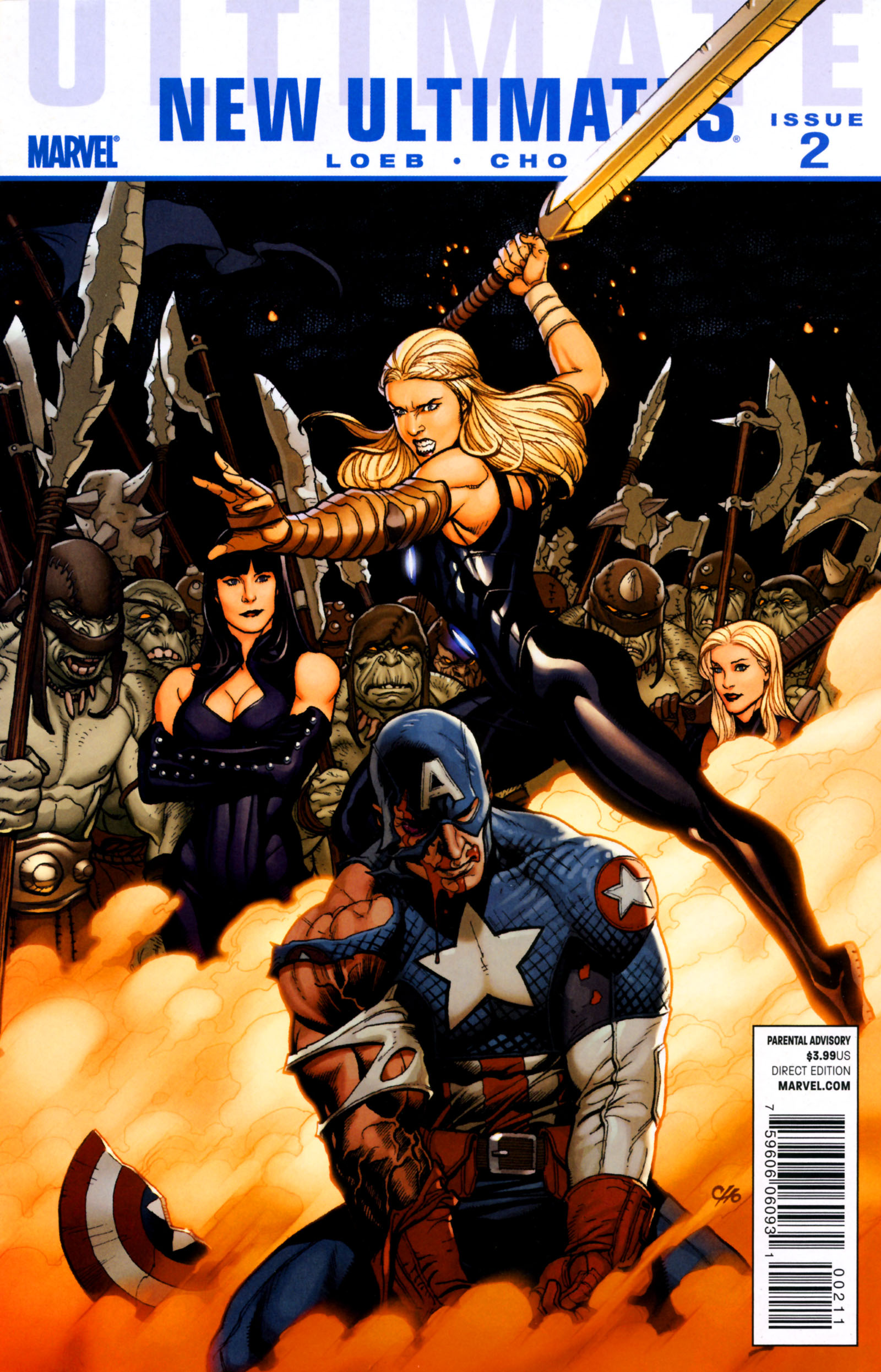 Read online Ultimate New Ultimates comic -  Issue #2 - 1