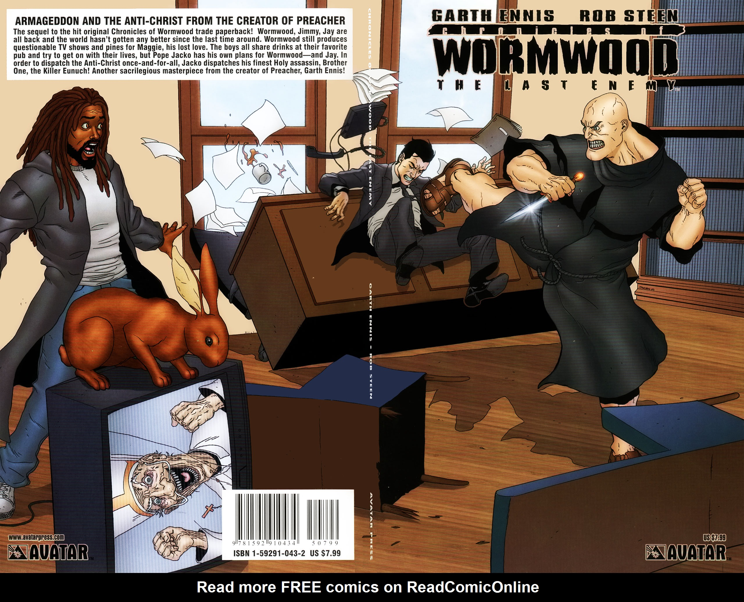 Read online Chronicles of Wormwood: The Last Enemy comic -  Issue # Full - 1