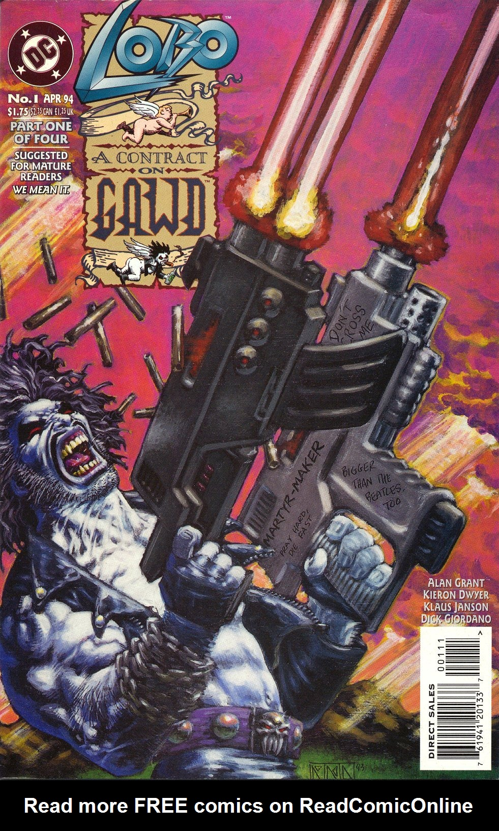 Read online Lobo: A Contract on Gawd comic -  Issue #1 - 1