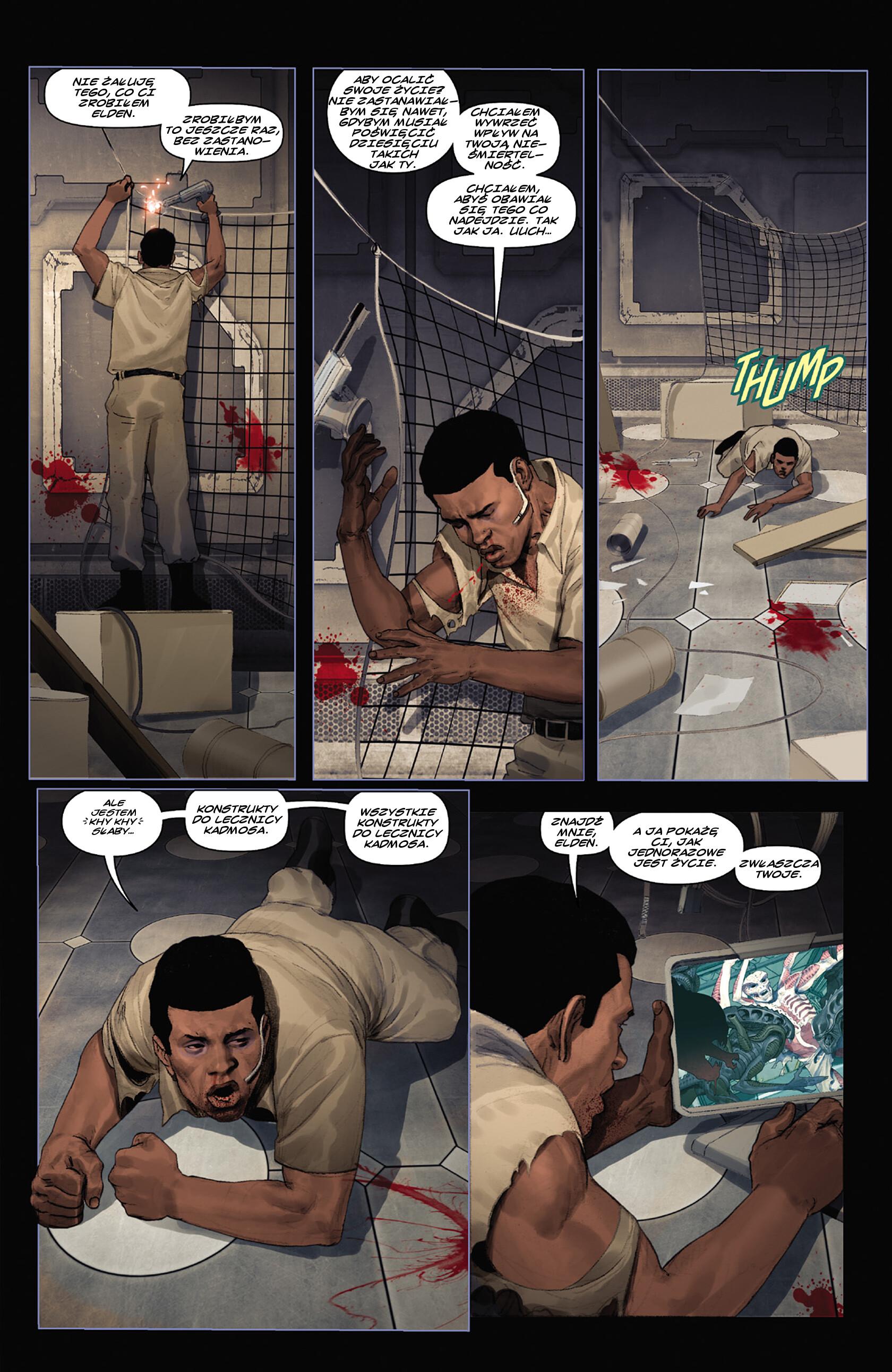 Read online Alien vs. Predator: Fire and Stone comic -  Issue #3 - 9