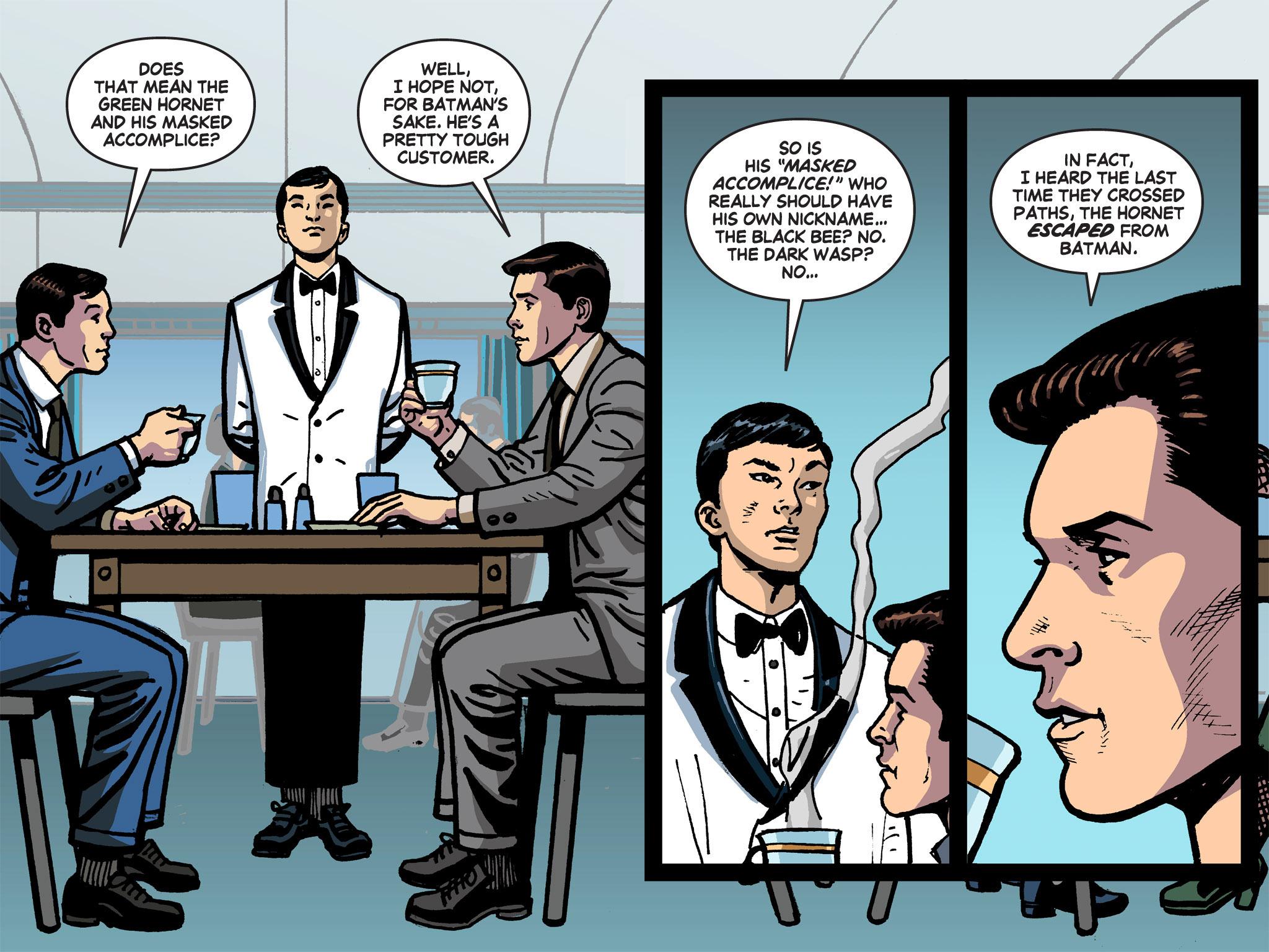 Read online Batman '66 Meets the Green Hornet [II] comic -  Issue #1 - 56