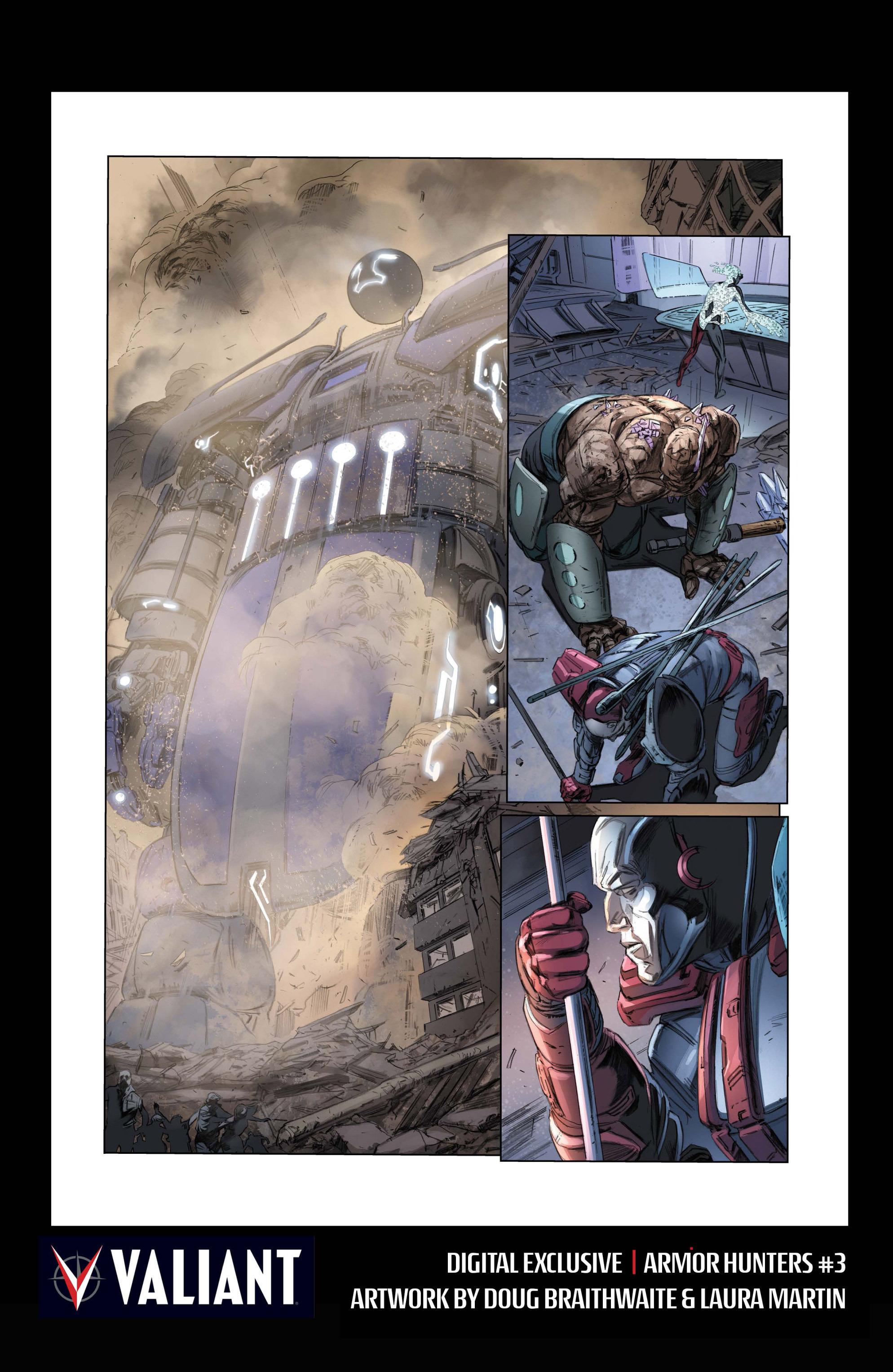 Read online Armor Hunters comic -  Issue #3 - 34