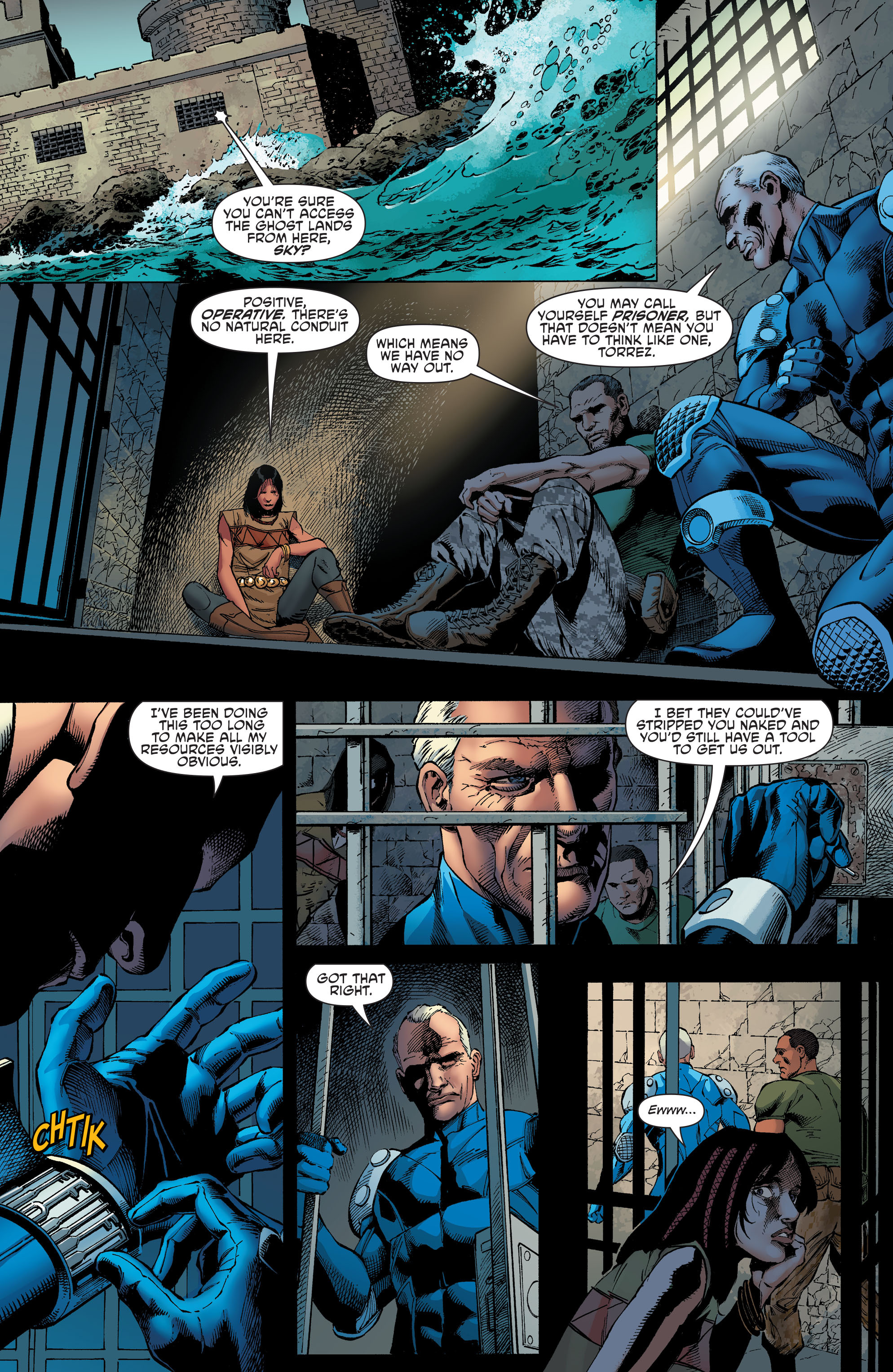 Read online Aquaman and the Others comic -  Issue #4 - 8