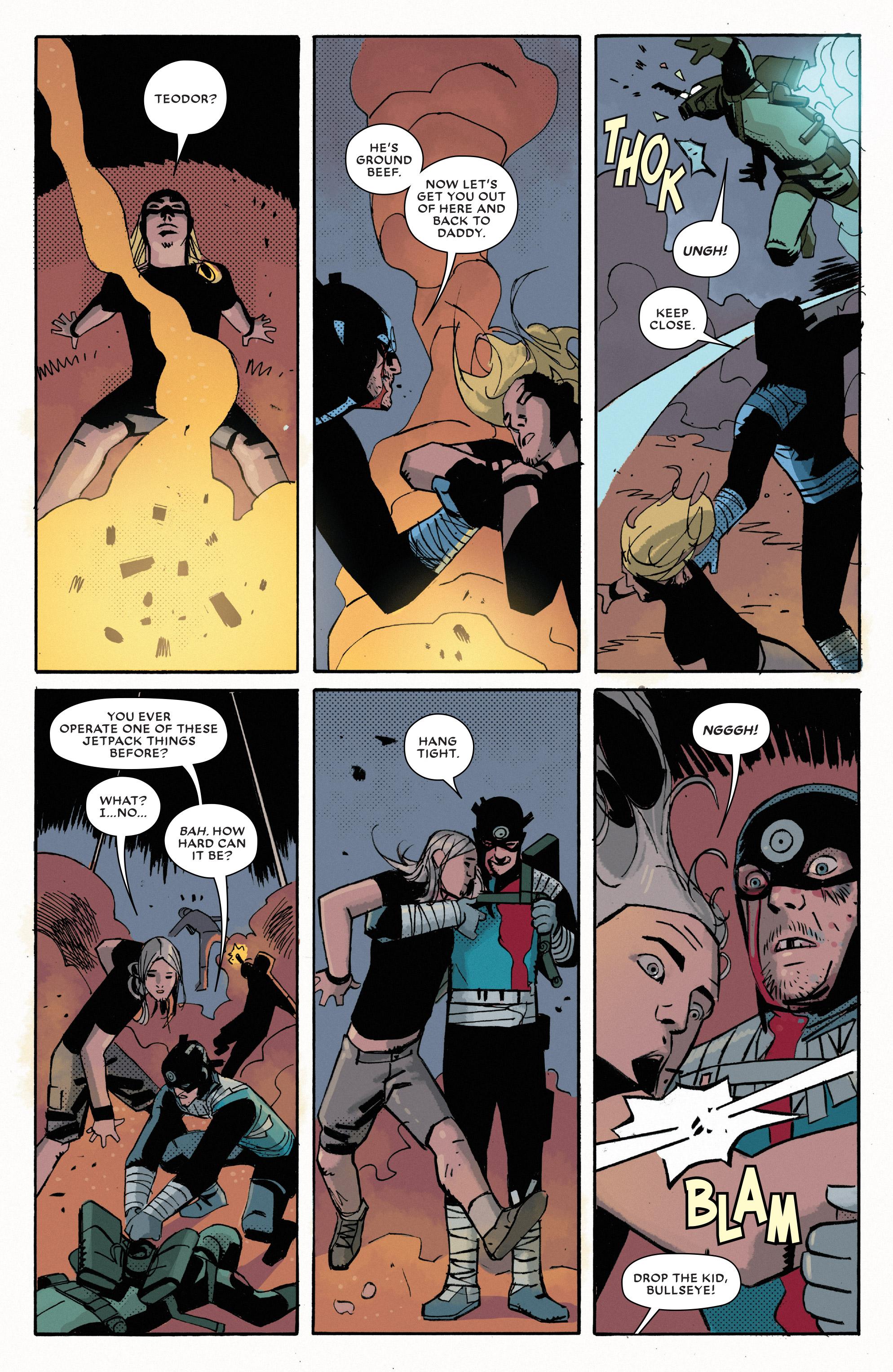 Read online Bullseye comic -  Issue #5 - 11