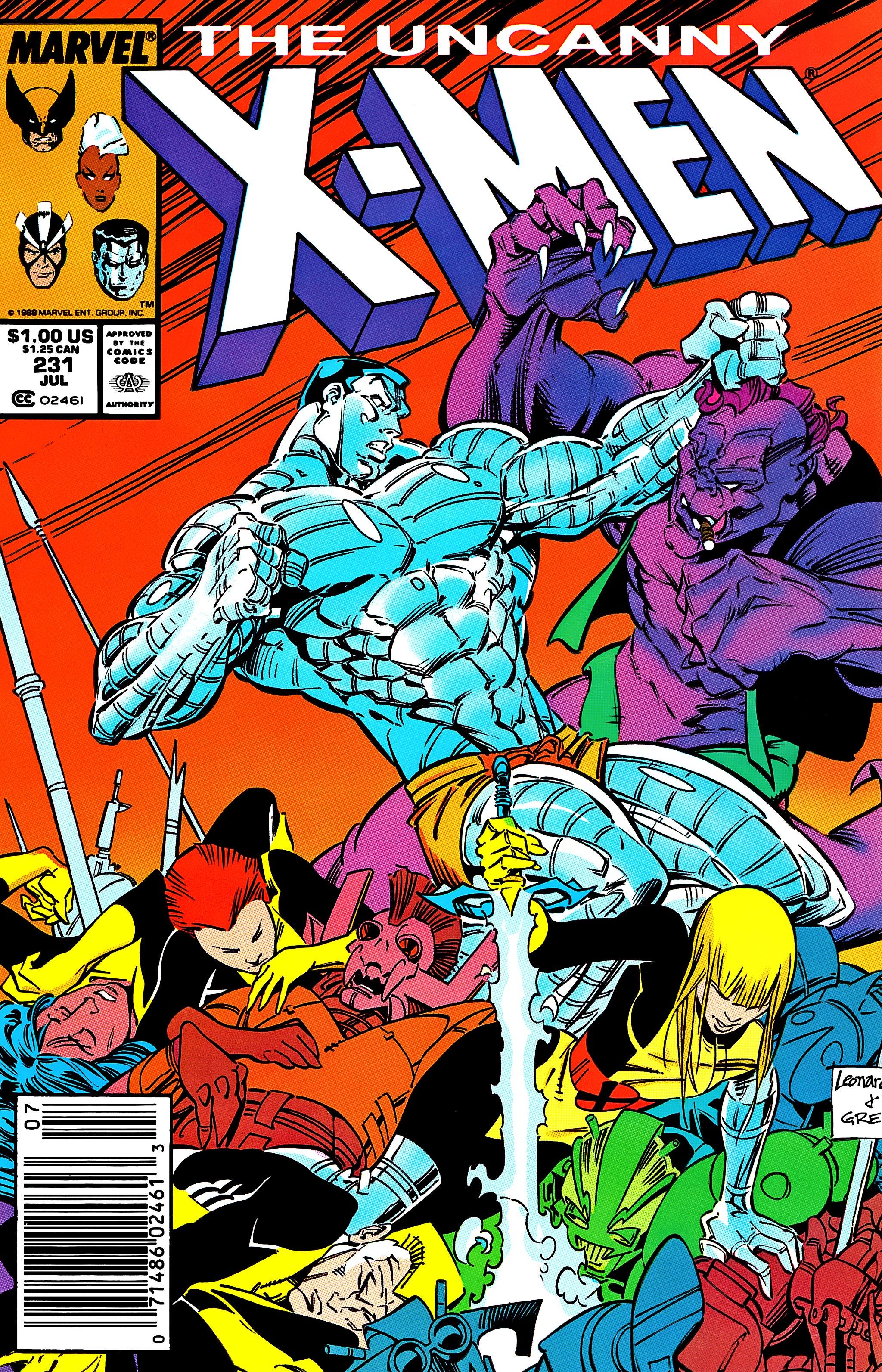 Uncanny X-Men (1963) 231 Page 1