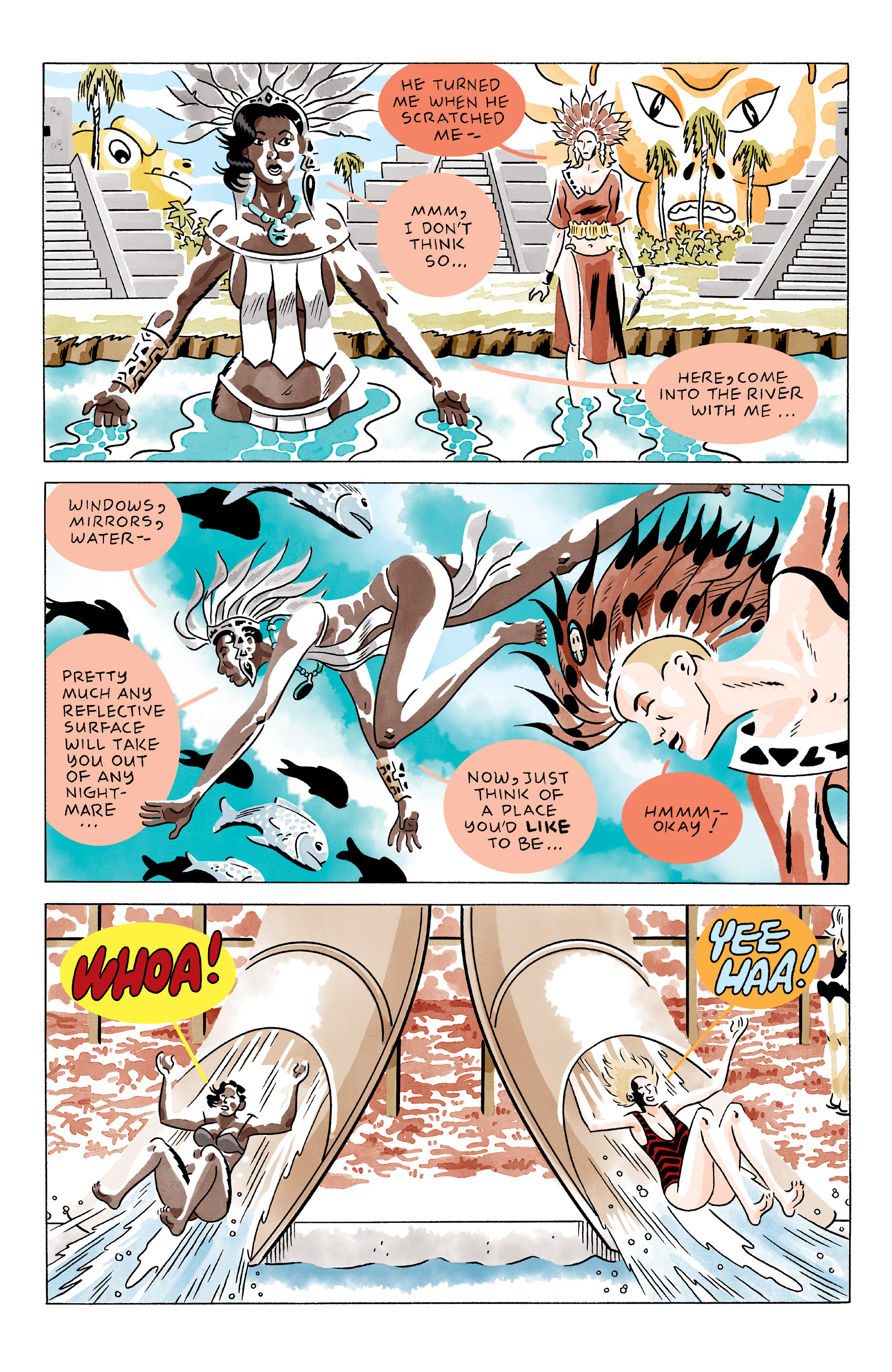 Read online She Wolf comic -  Issue #2 - 9