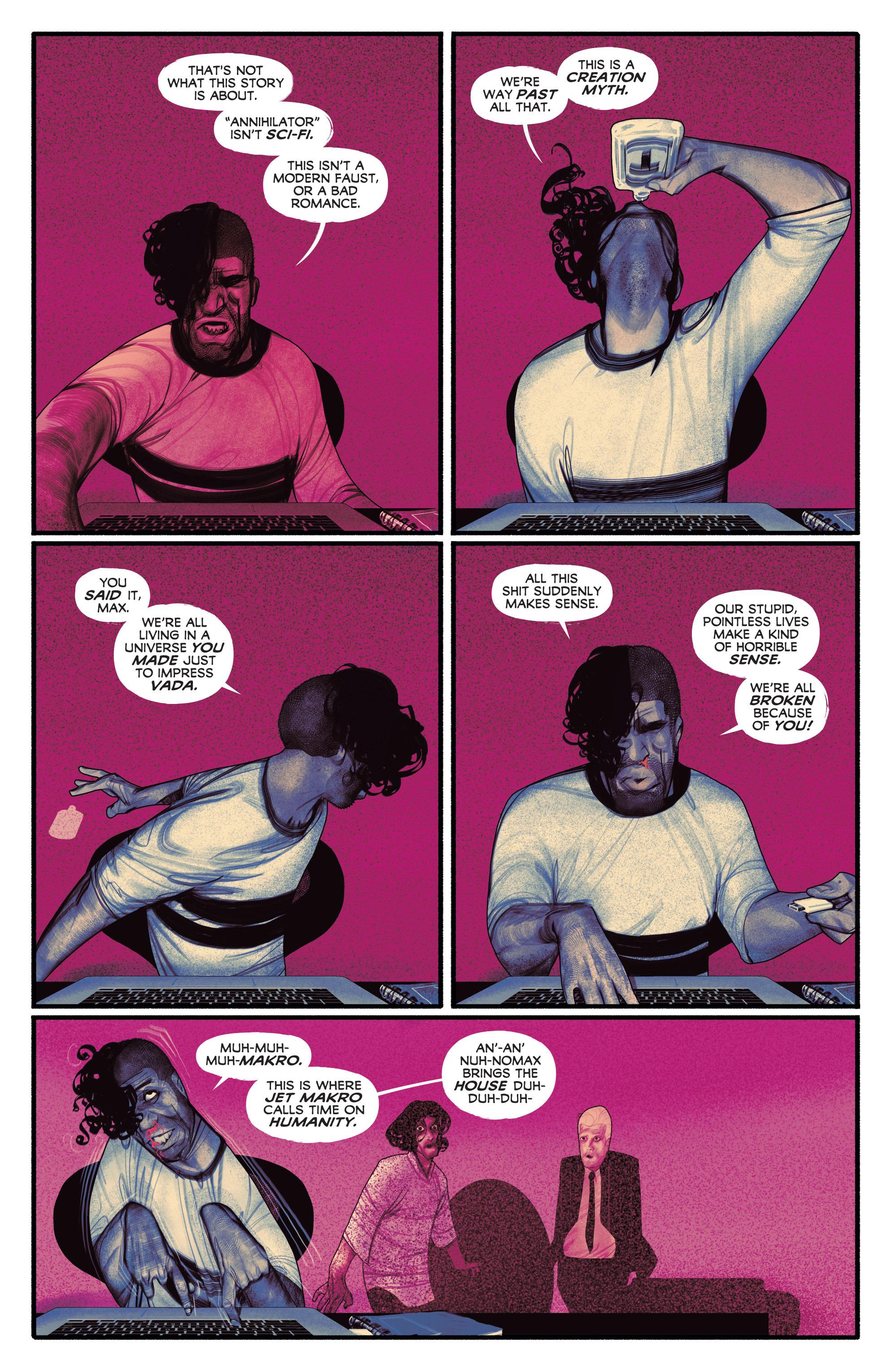 Read online Annihilator comic -  Issue #5 - 33