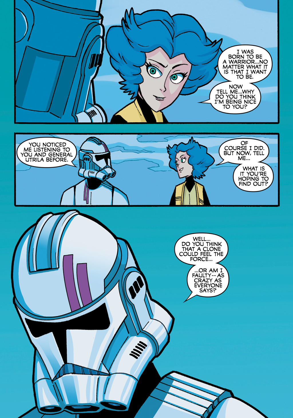 Read online Star Wars: The Clone Wars - Defenders of the Lost Temple comic -  Issue # Full - 44