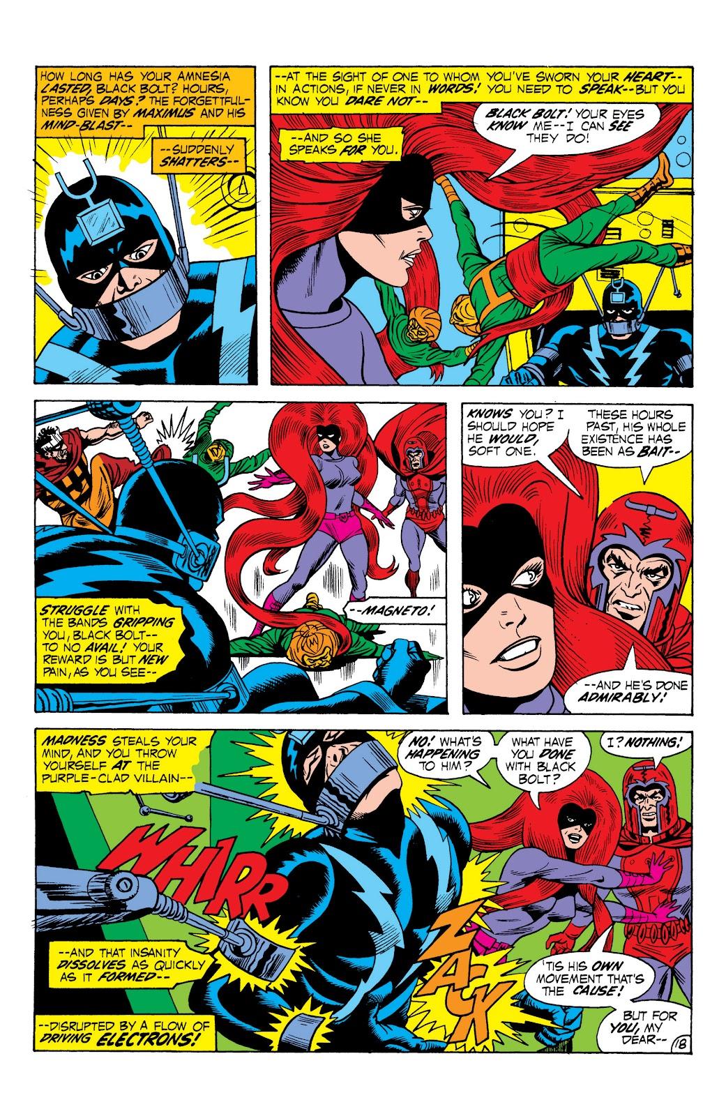 Read online Marvel Masterworks: The Inhumans comic -  Issue # TPB 1 (Part 2) - 75
