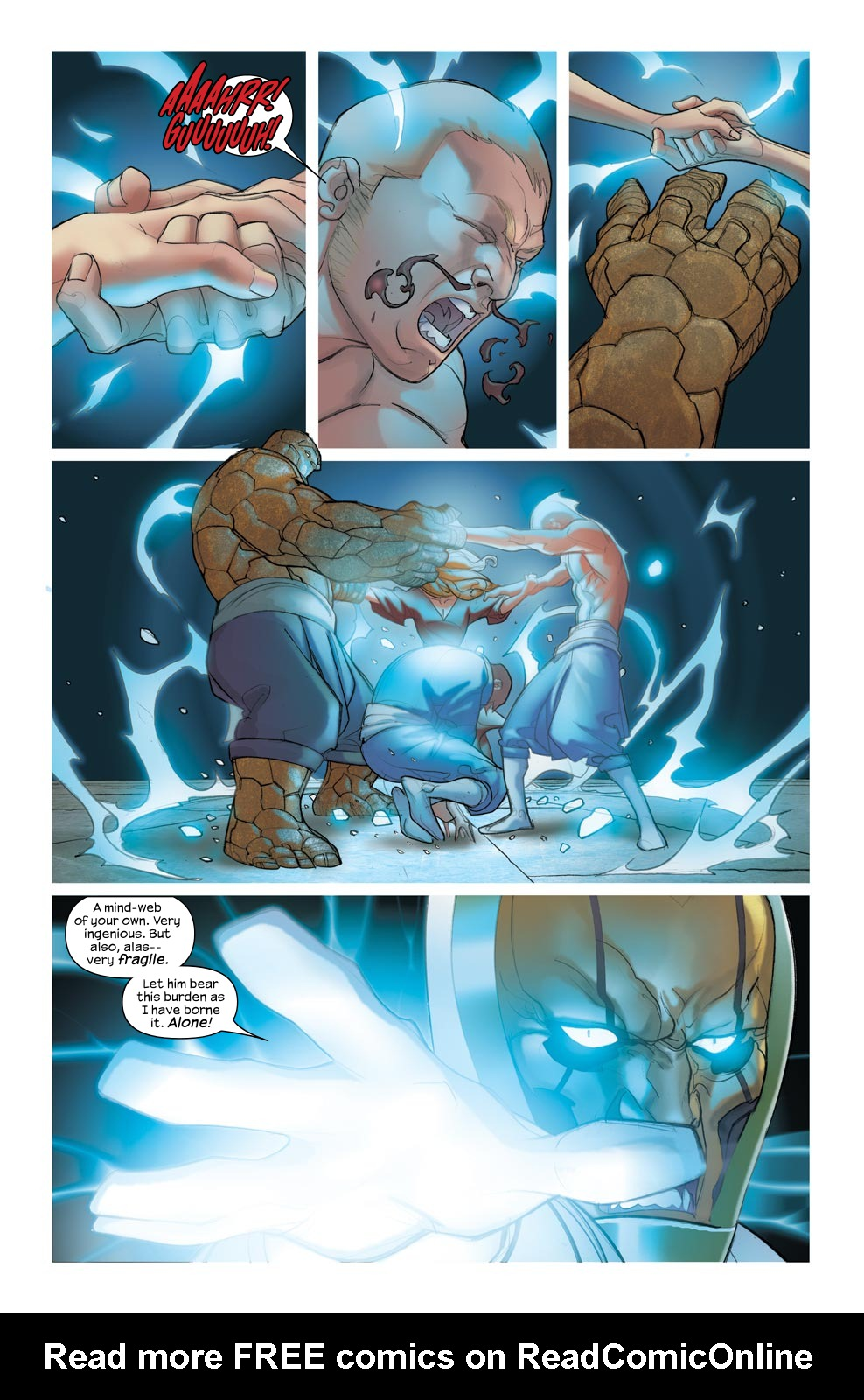Read online Ultimate Fantastic Four (2004) comic -  Issue #46 - 21