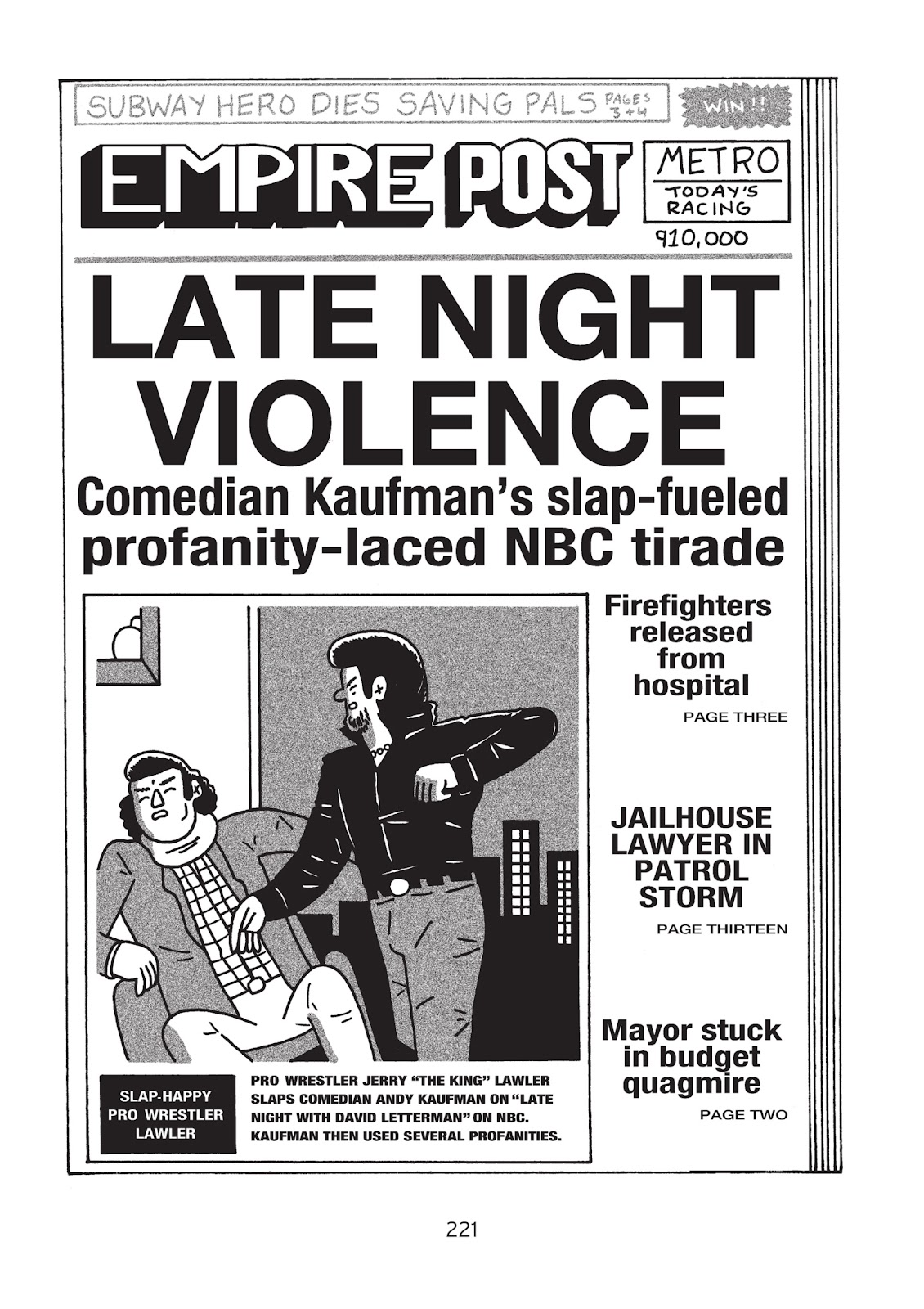 Read online Is This Guy For Real?: The Unbelievable Andy Kaufman comic -  Issue # TPB (Part 3) - 26