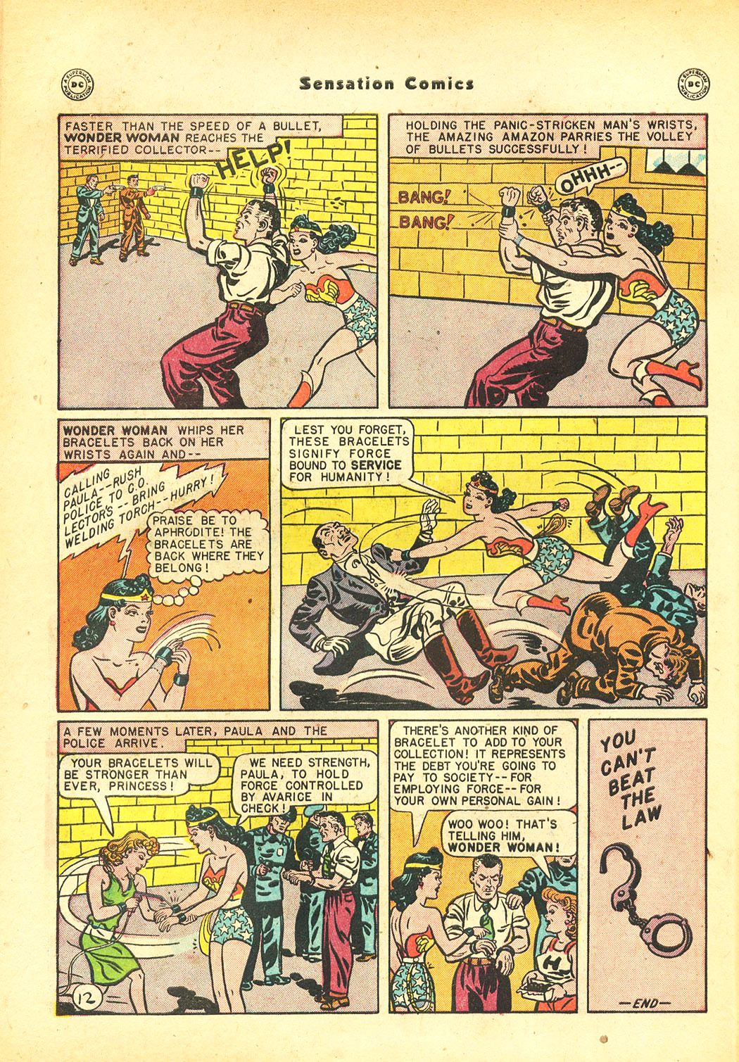 Read online Sensation (Mystery) Comics comic -  Issue #86 - 14