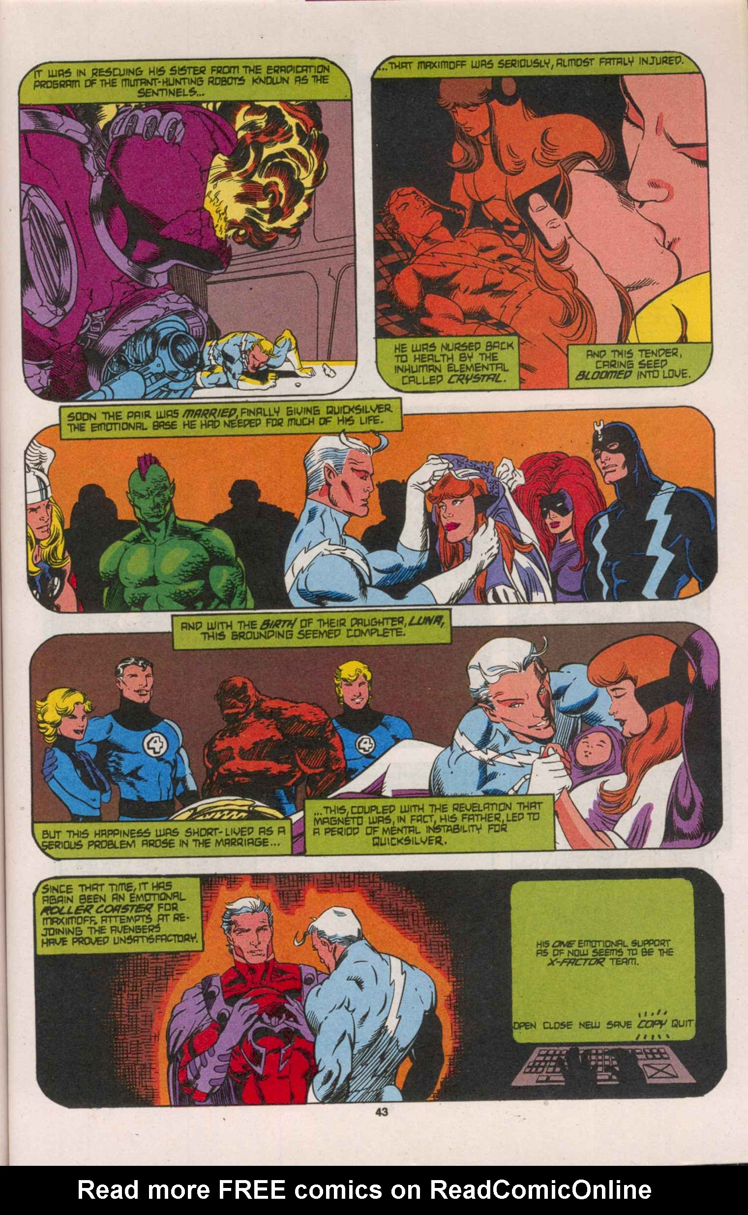 Read online X-Factor (1986) comic -  Issue # _ Annual 8 - 38