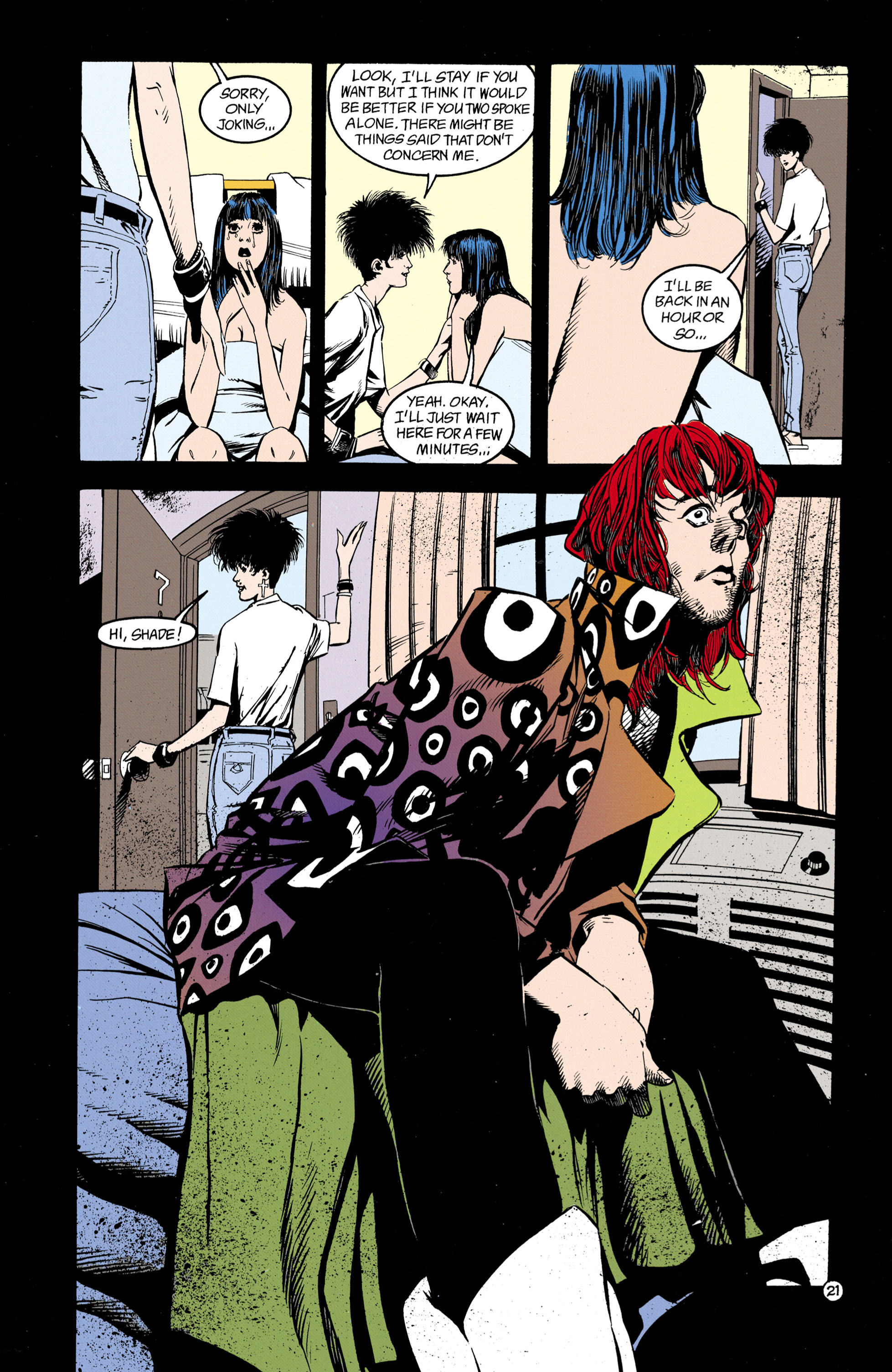 Read online Shade, the Changing Man comic -  Issue #26 - 22
