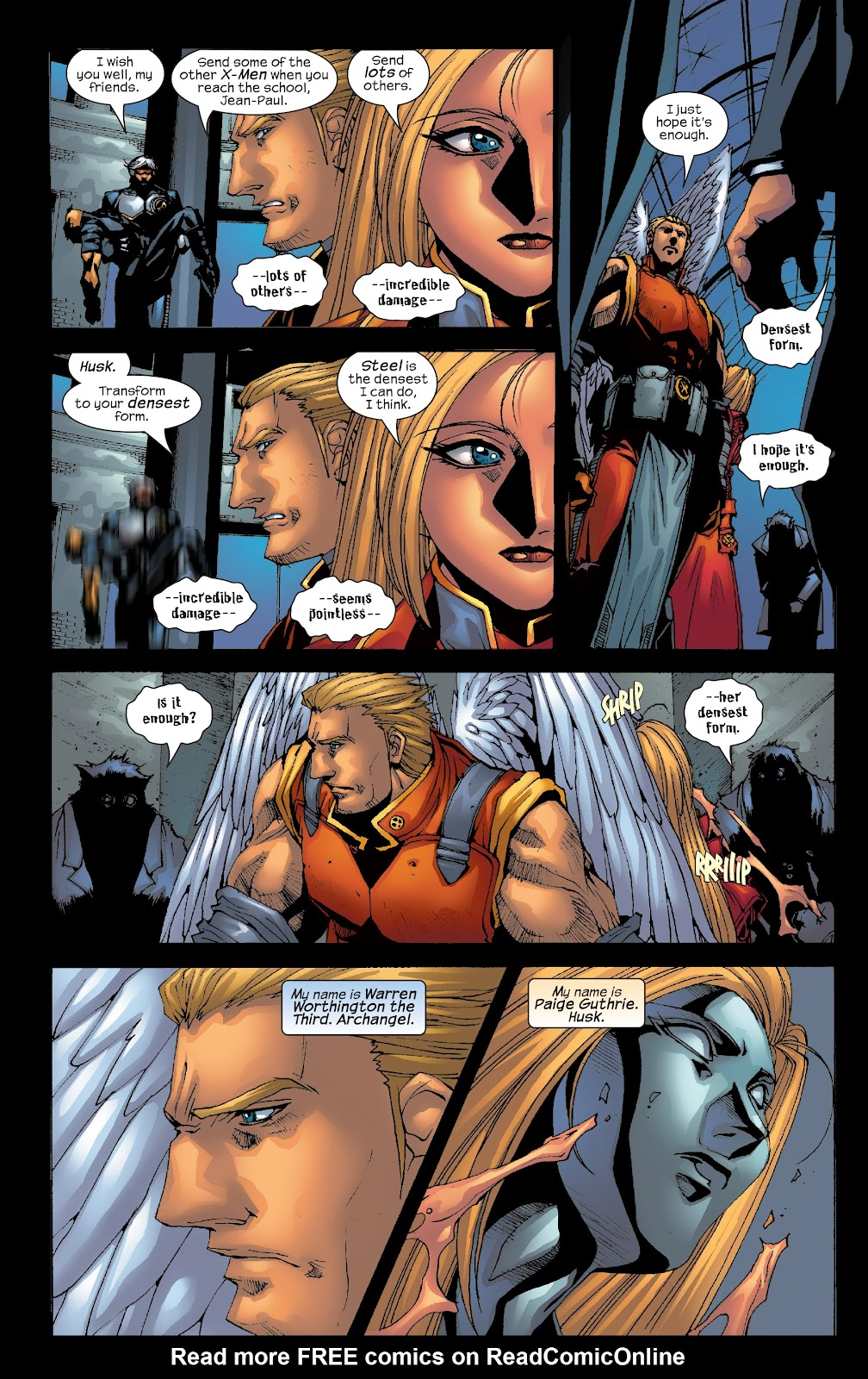 Read online X-Men: Unstoppable comic -  Issue # TPB (Part 3) - 25