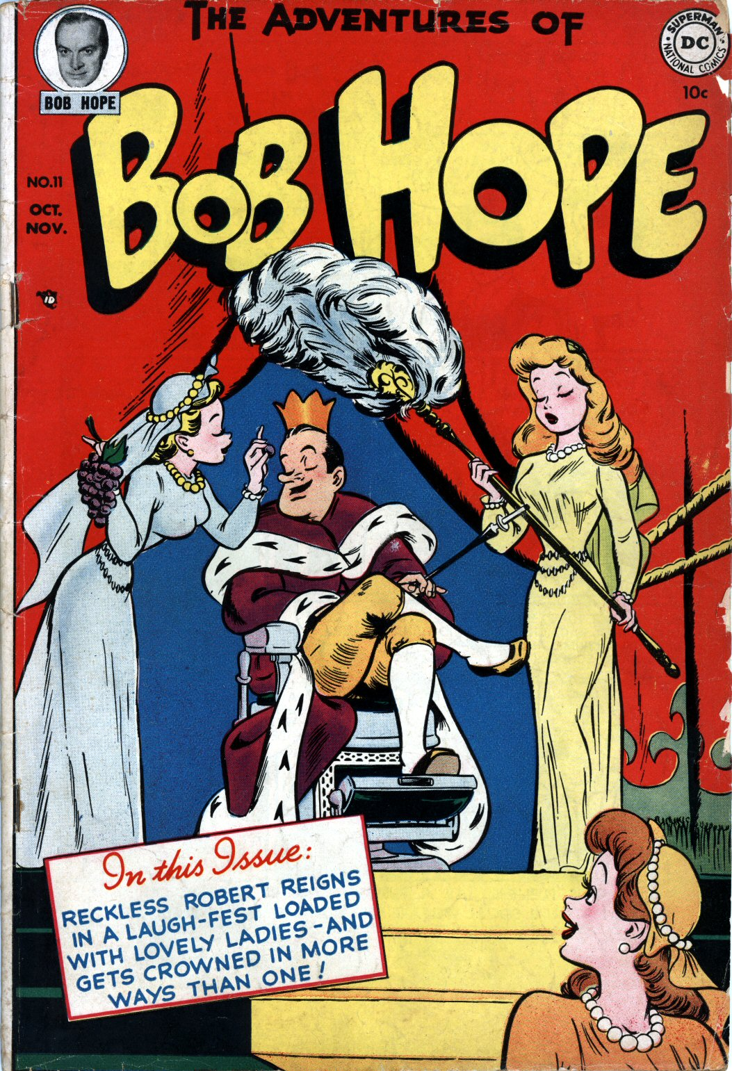 The Adventures of Bob Hope issue 11 - Page 1