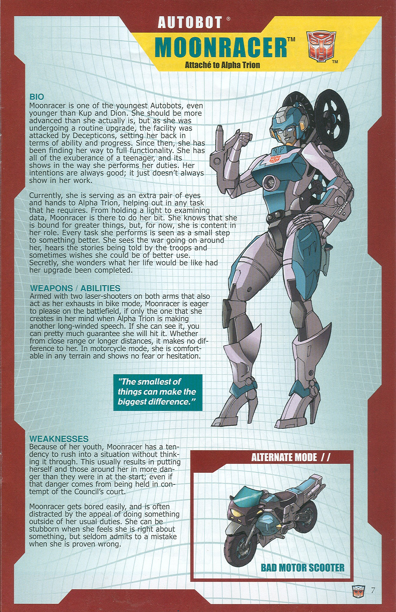 Read online Transformers: Collectors' Club comic -  Issue #33 - 7