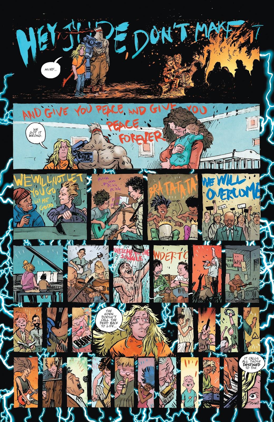 Read online Murder Falcon comic -  Issue #8 - 17