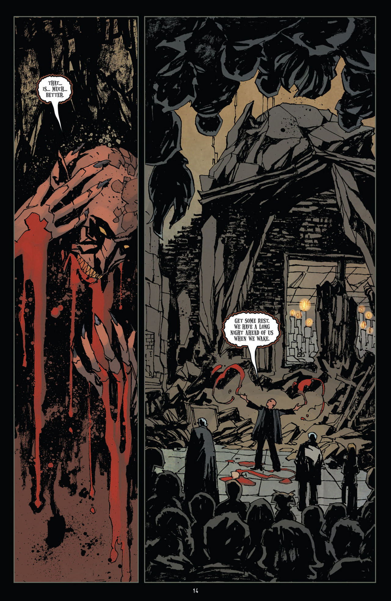 Read online 30 Days of Night (2011) comic -  Issue #10 - 15