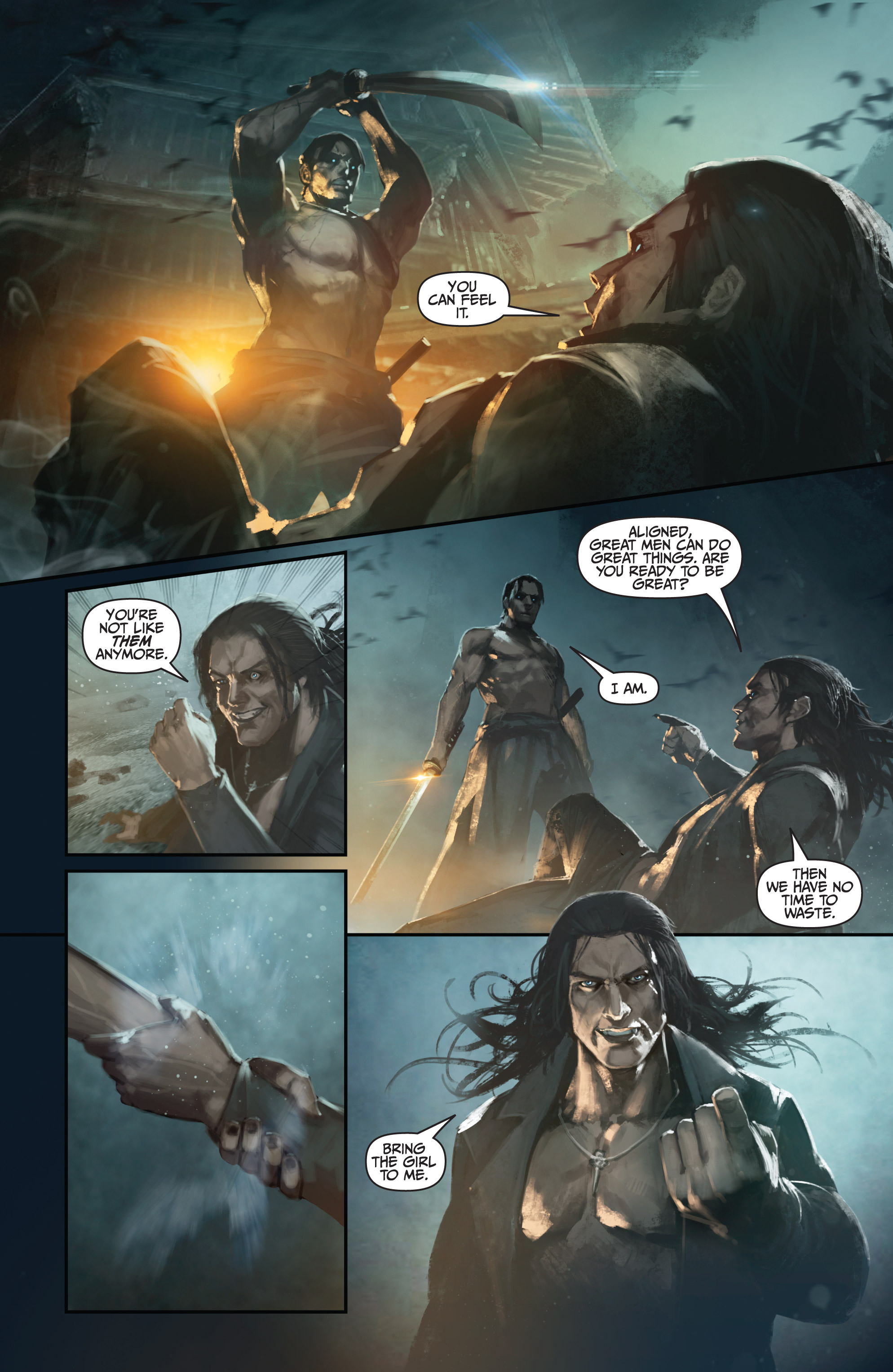 Read online Bushido: The Way of the Warrior comic -  Issue #4 - 7