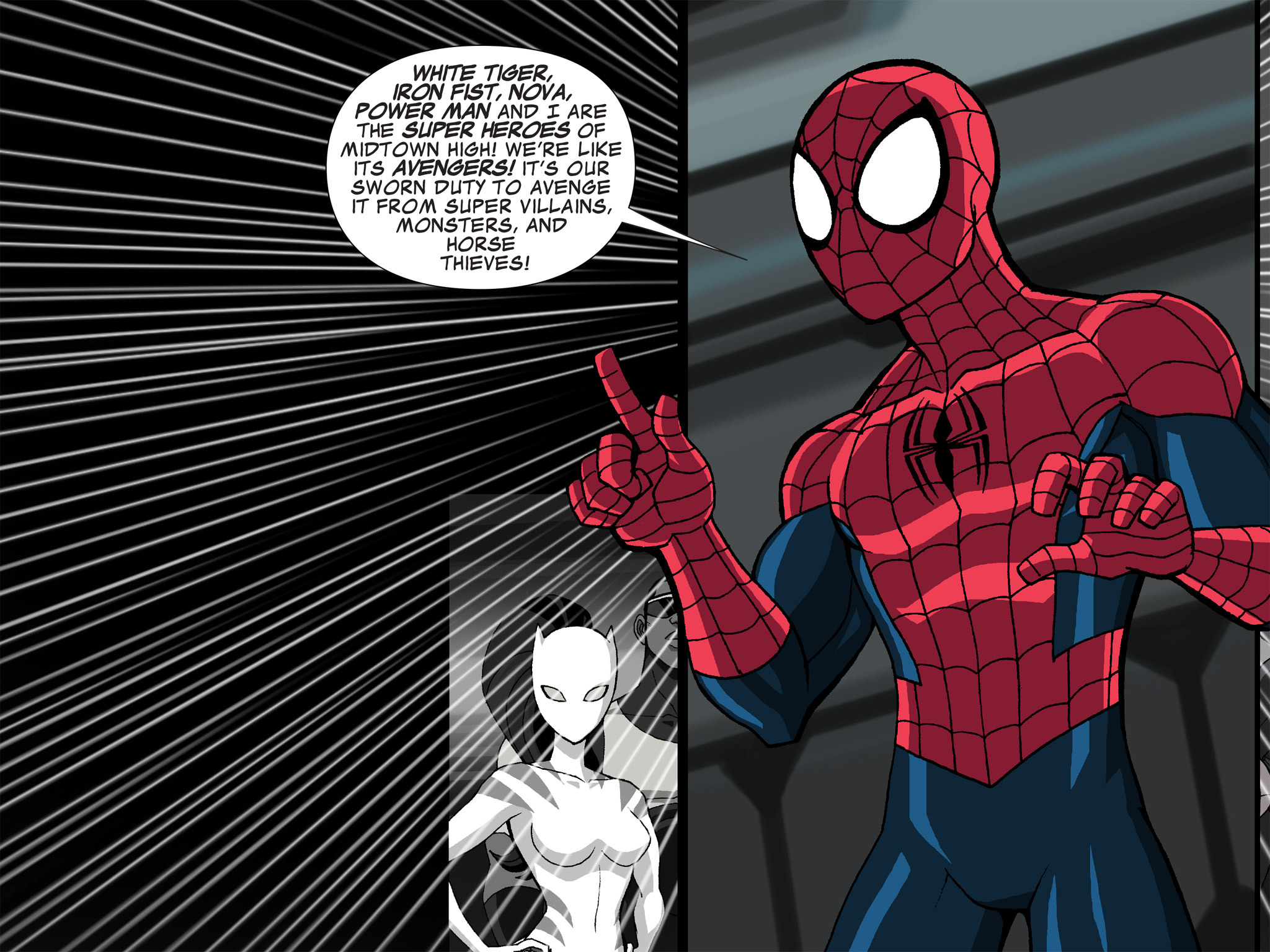 Read online Ultimate Spider-Man (Infinite Comics) (2015) comic -  Issue #21 - 6