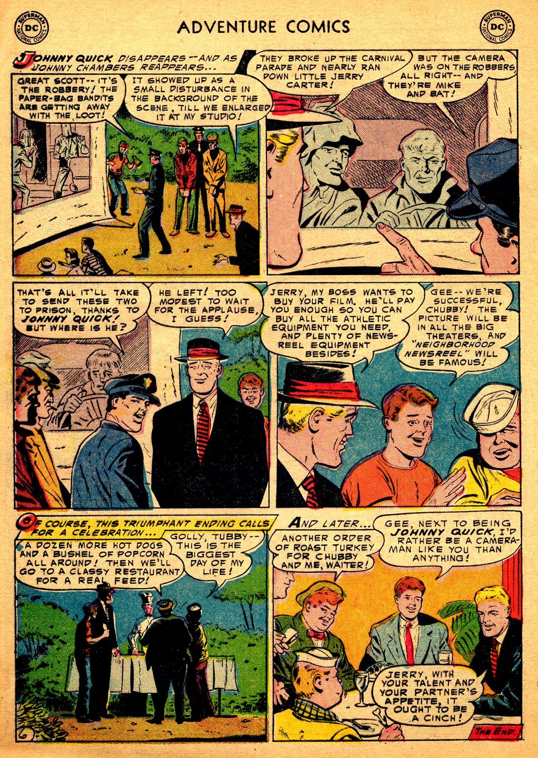 Read online Adventure Comics (1938) comic -  Issue #206 - 32