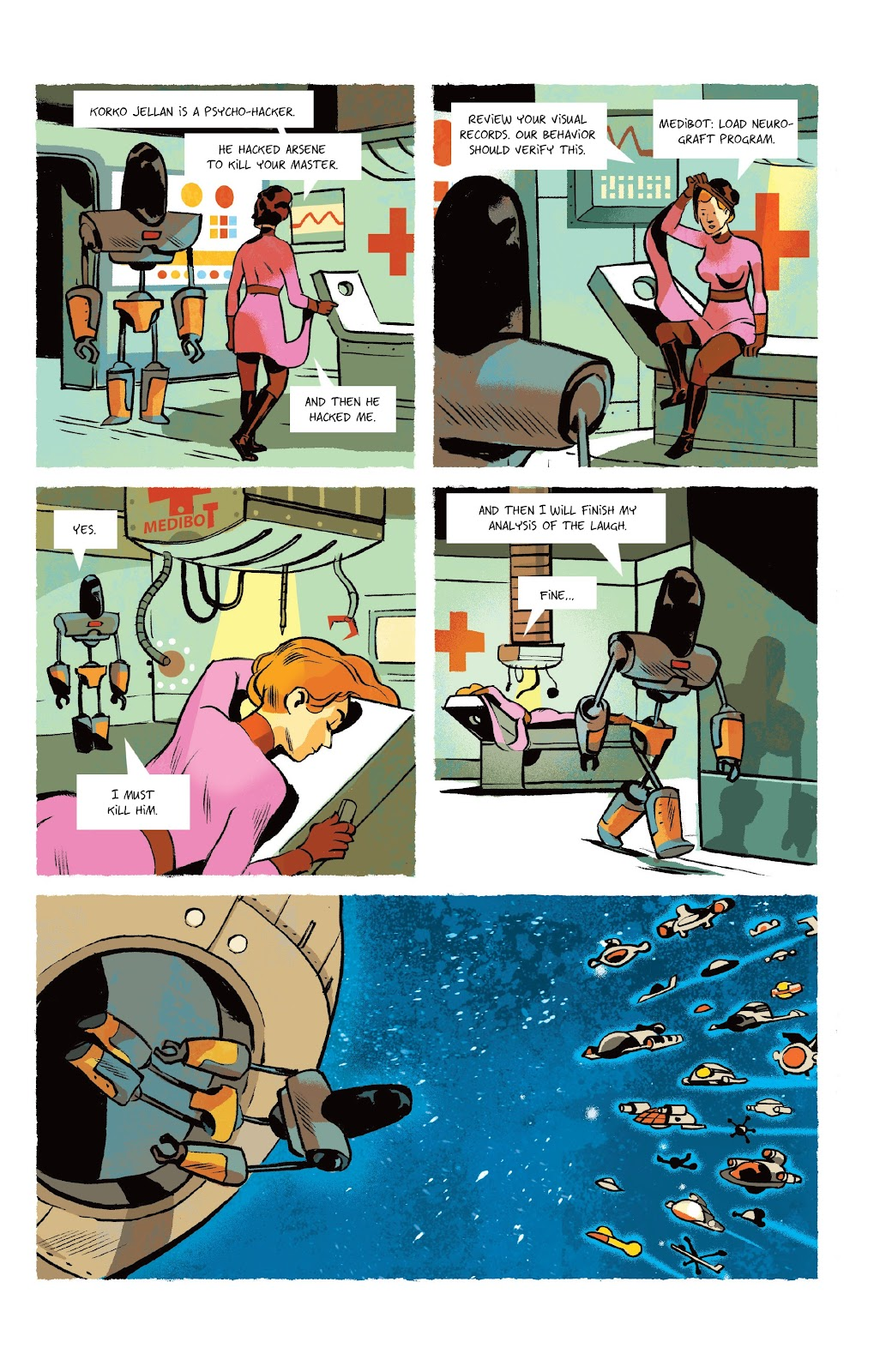 Read online Infinity 8 comic -  Issue #9 - 4