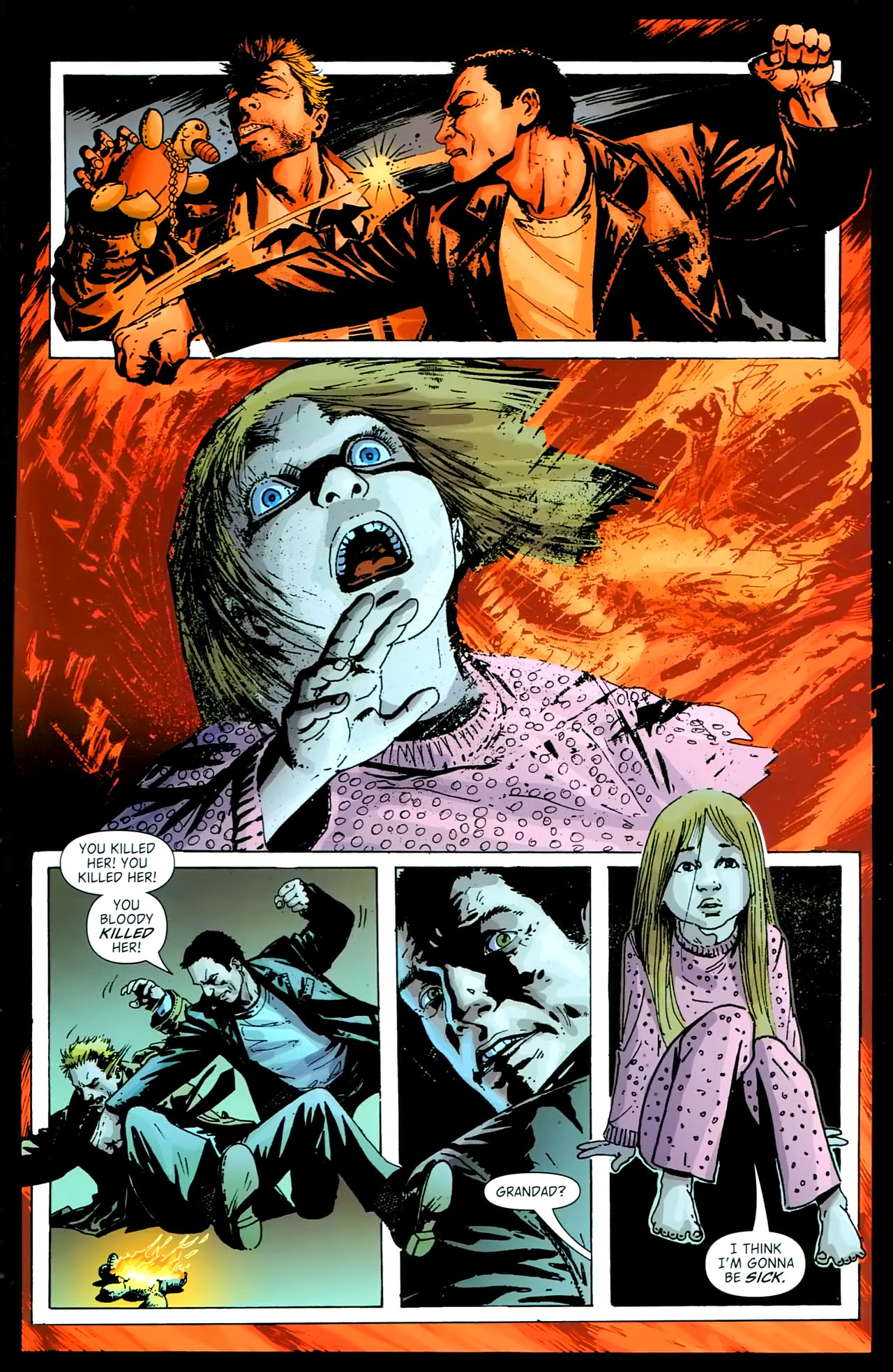 Read online John Constantine Hellblazer: All His Engines comic -  Issue # Full - 113