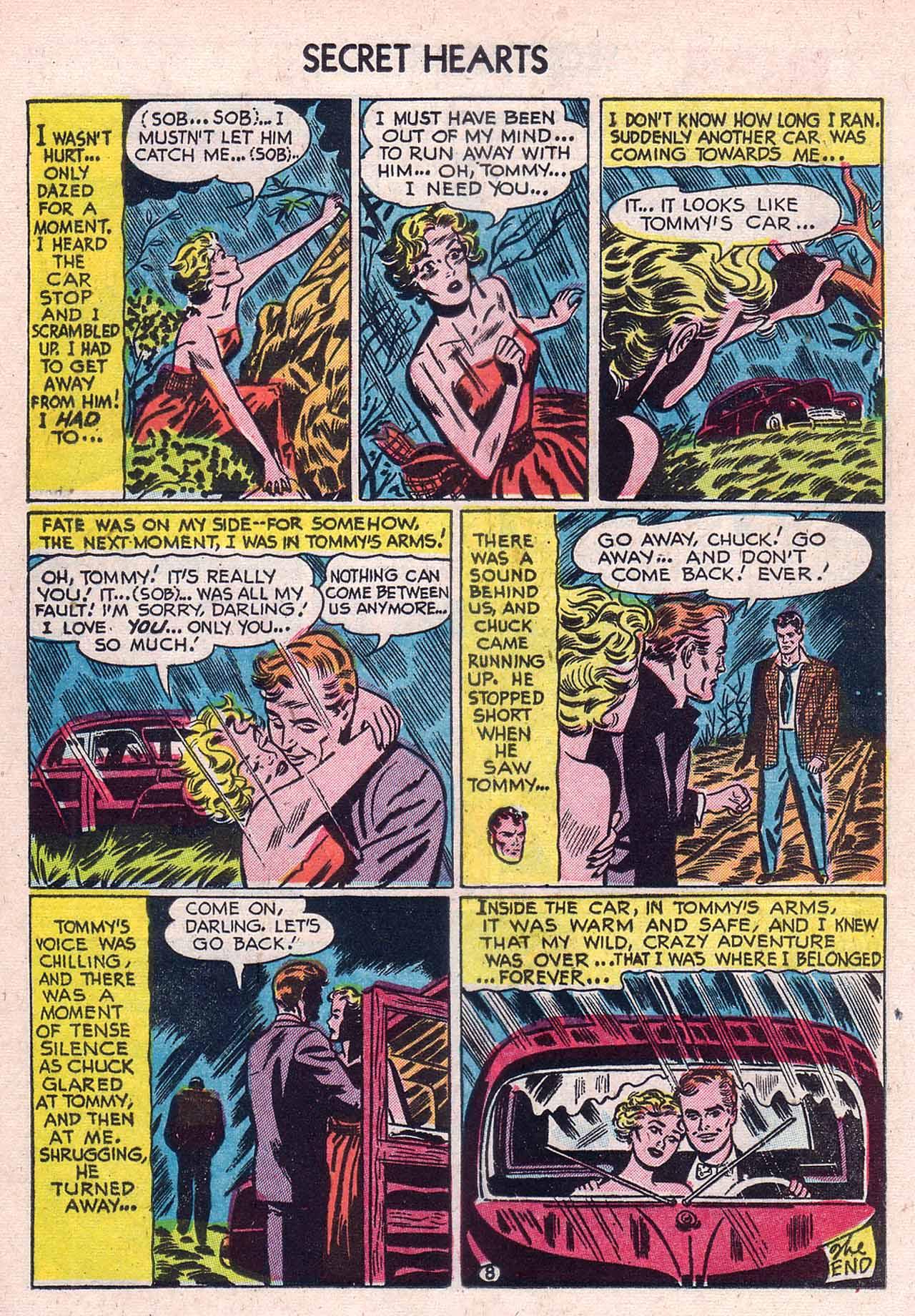 Read online Secret Hearts comic -  Issue #12 - 24