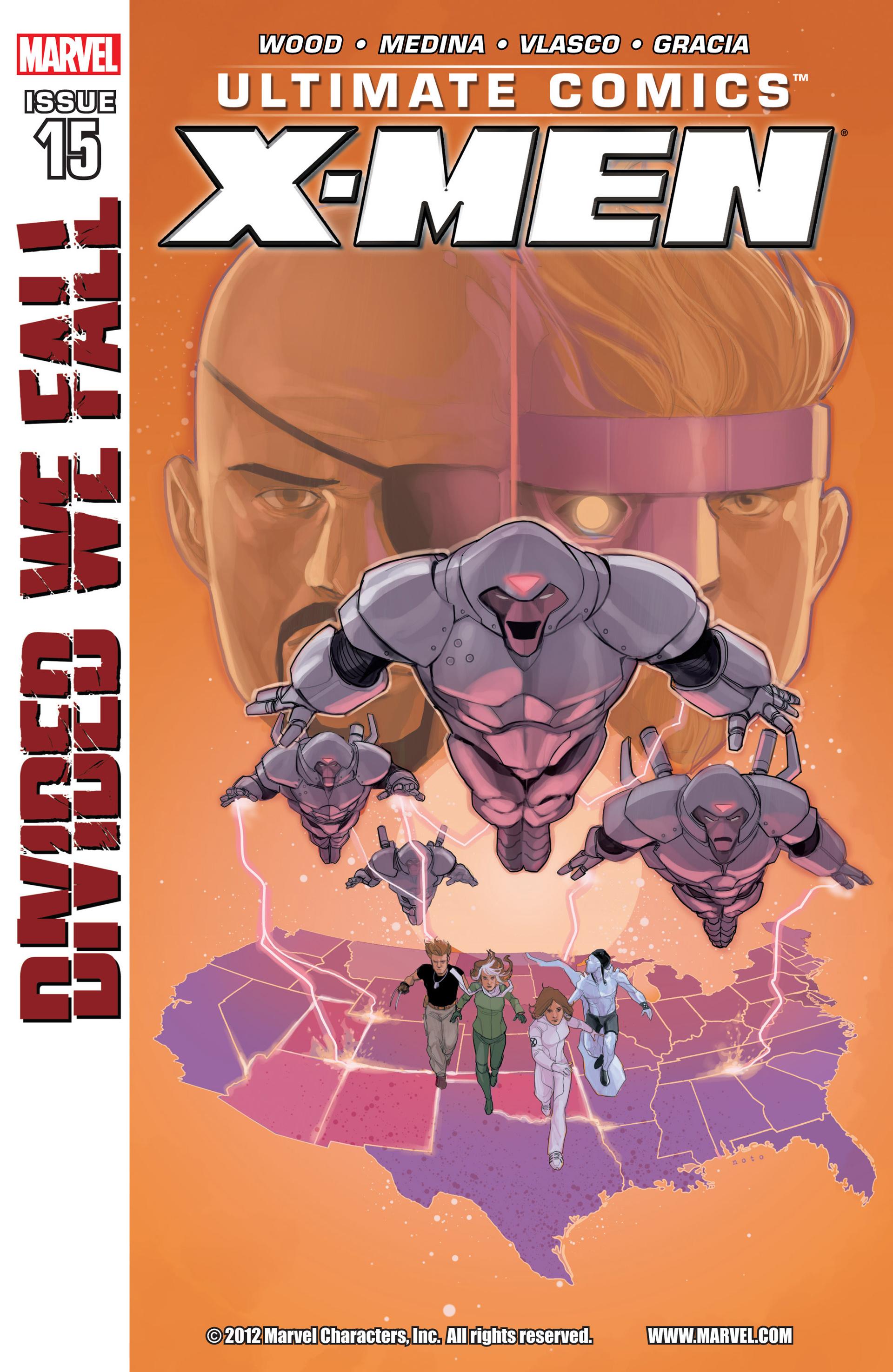 Read online Ultimate Comics X-Men comic -  Issue #15 - 1