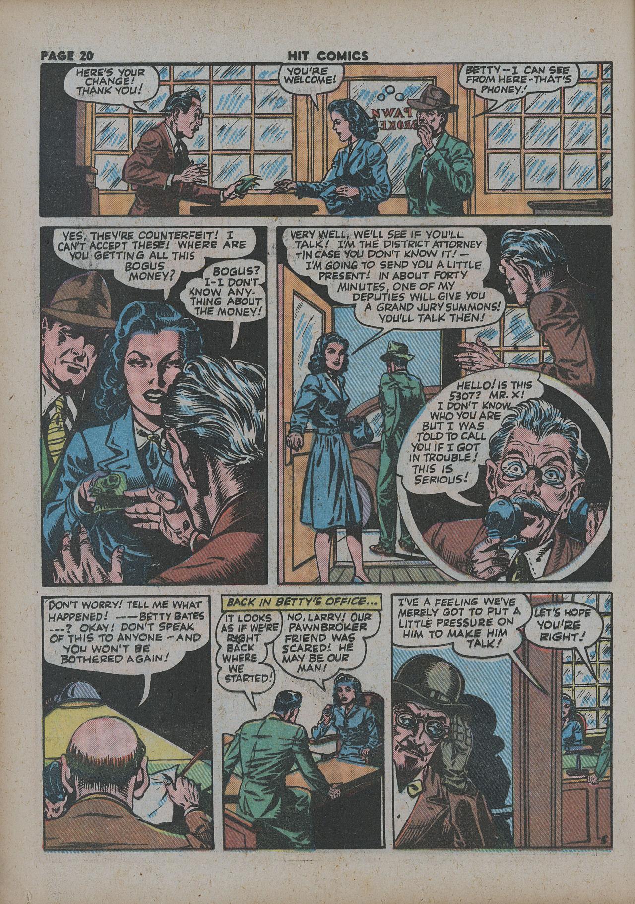 Read online Hit Comics comic -  Issue #27 - 22