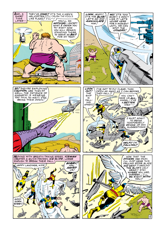 Uncanny X-Men (1963) 7 Page 15