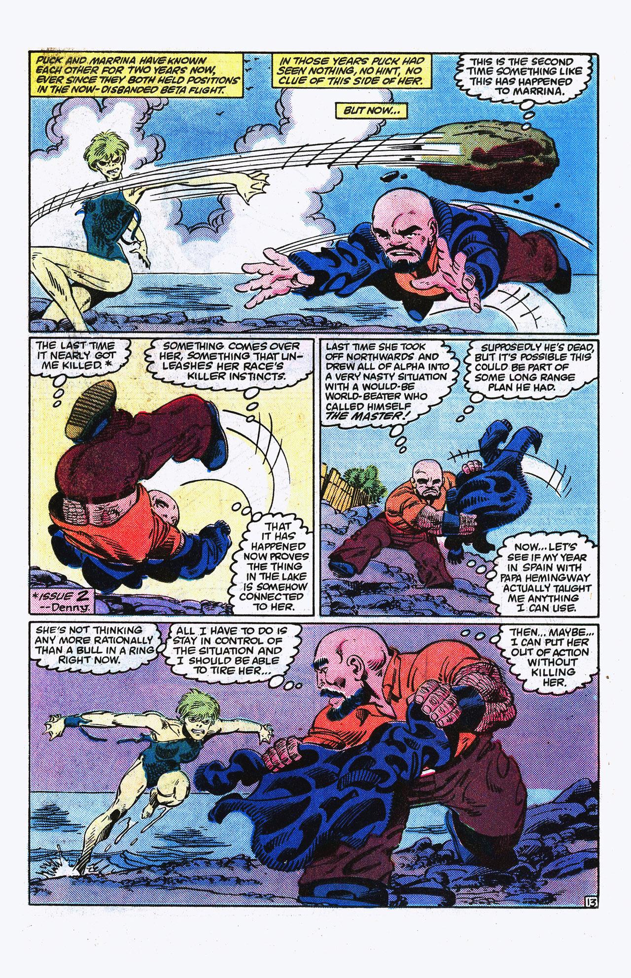 Read online Alpha Flight (1983) comic -  Issue #15 - 14