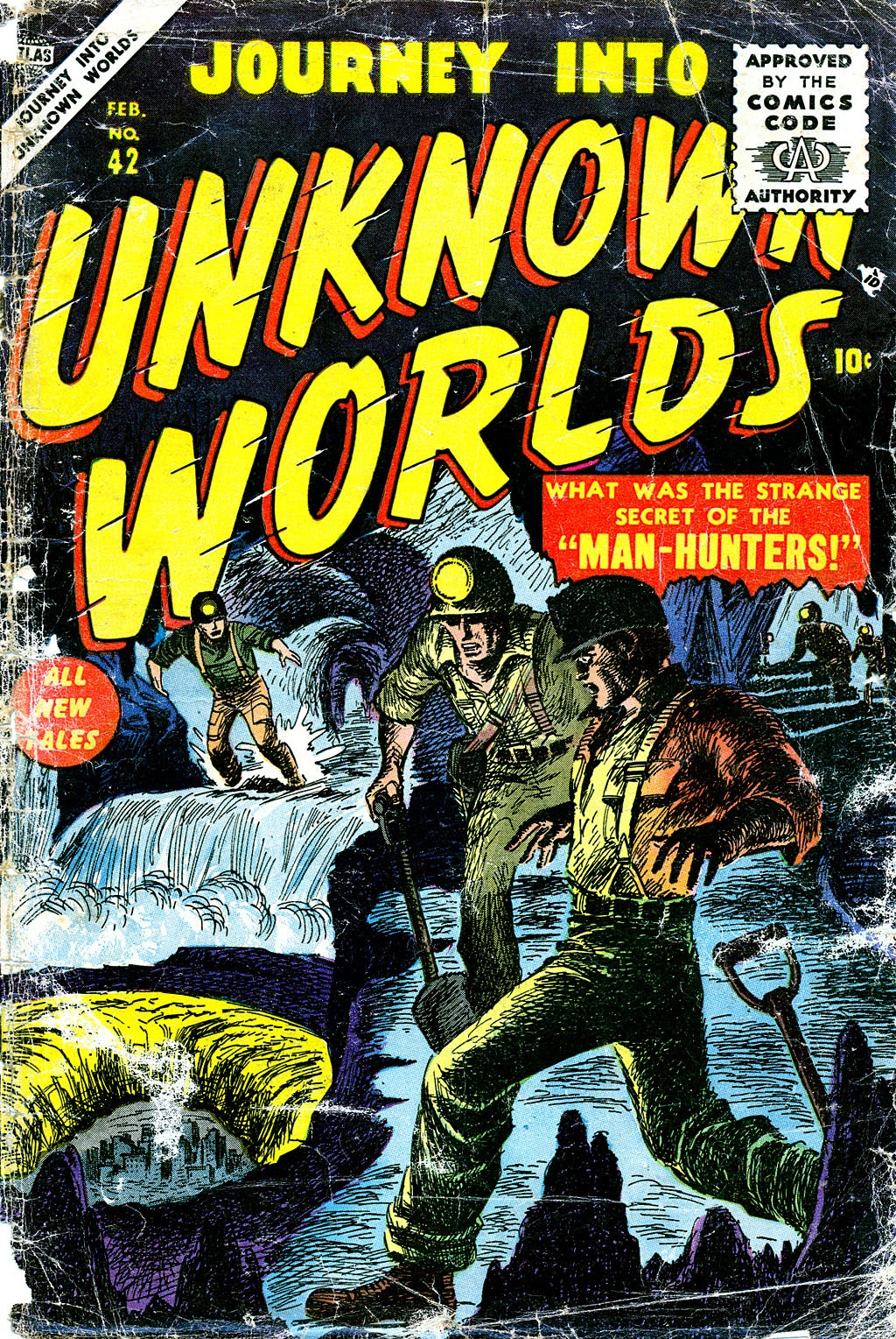 Journey Into Unknown Worlds (1950) issue 42 - Page 1