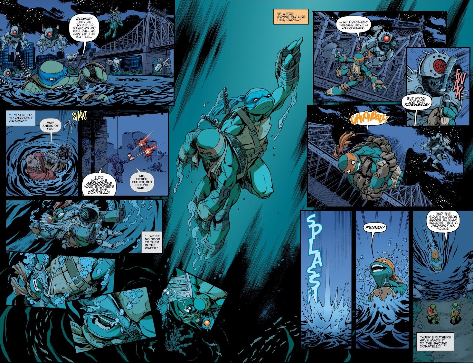 Read online Teenage Mutant Ninja Turtles: The IDW Collection comic -  Issue # TPB 6 (Part 3) - 10