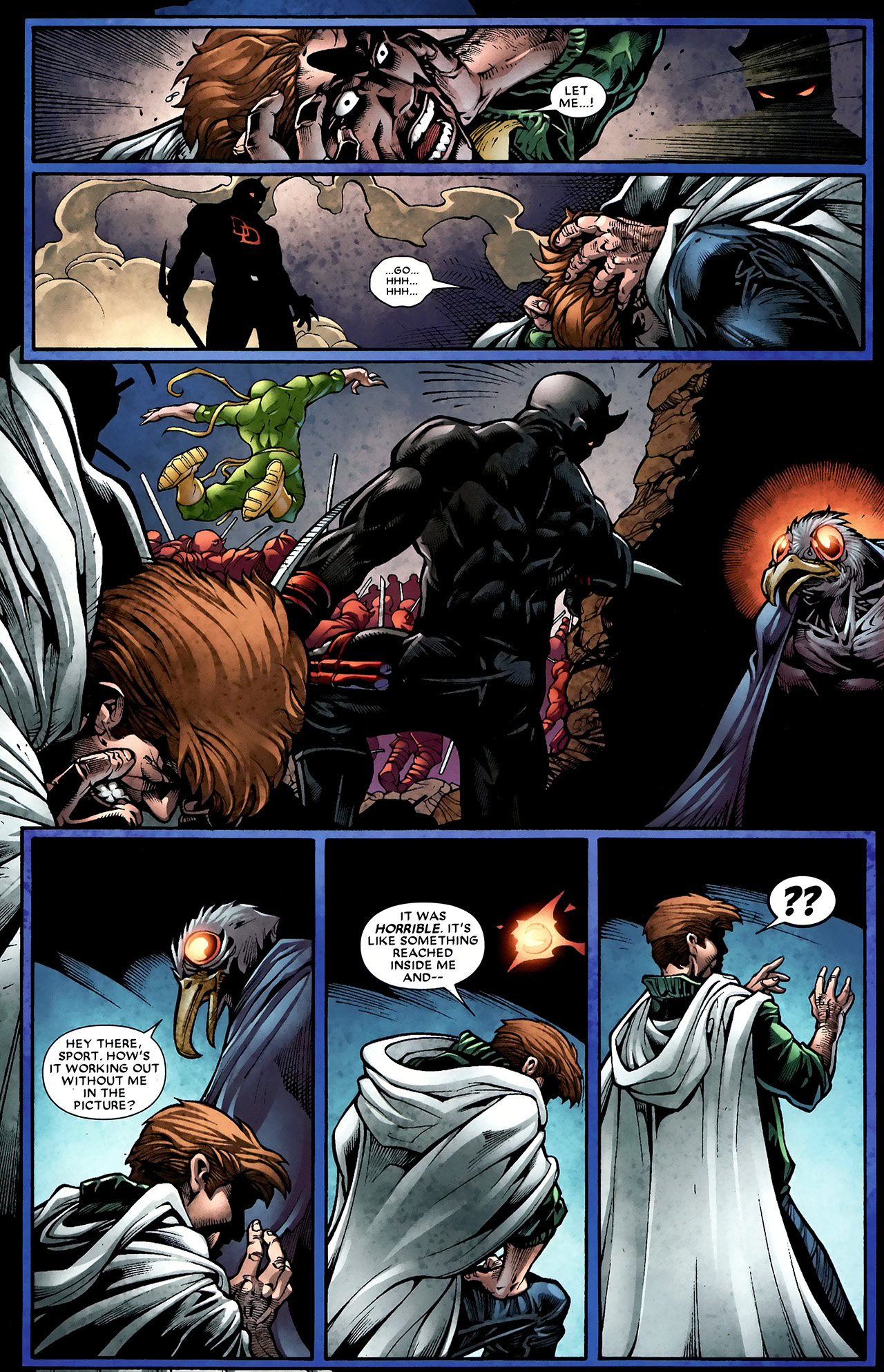 Read online Shadowland: Moon Knight comic -  Issue #2 - 9