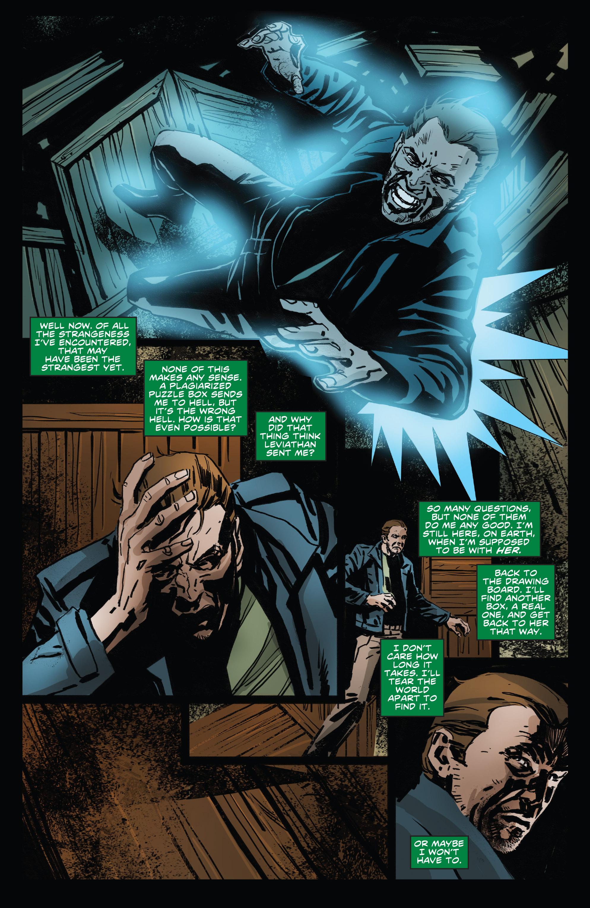 Read online Clive Barker's Hellraiser: The Dark Watch comic -  Issue # TPB 3 - 33