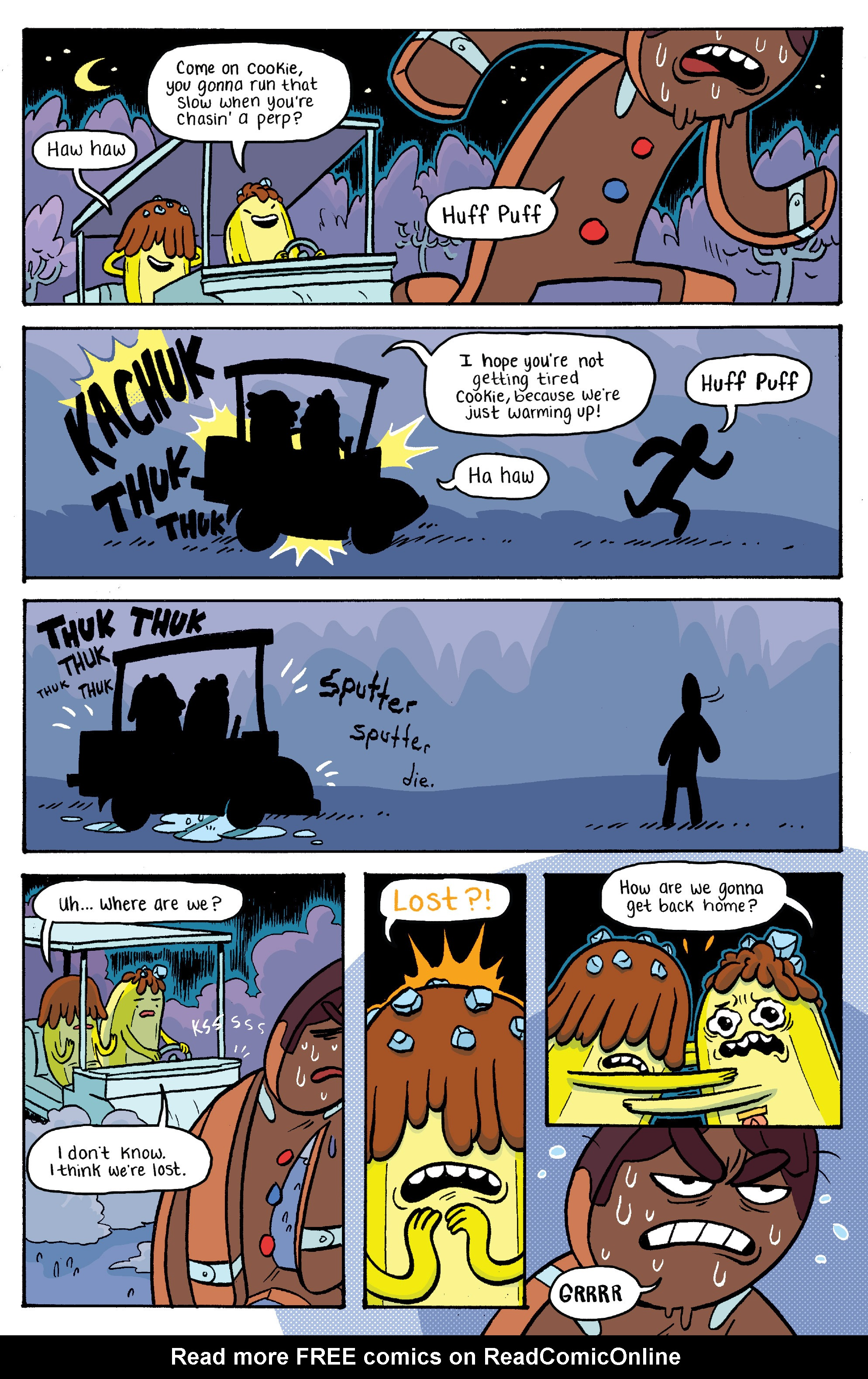 Read online Adventure Time: Banana Guard Academ comic -  Issue #2 - 19