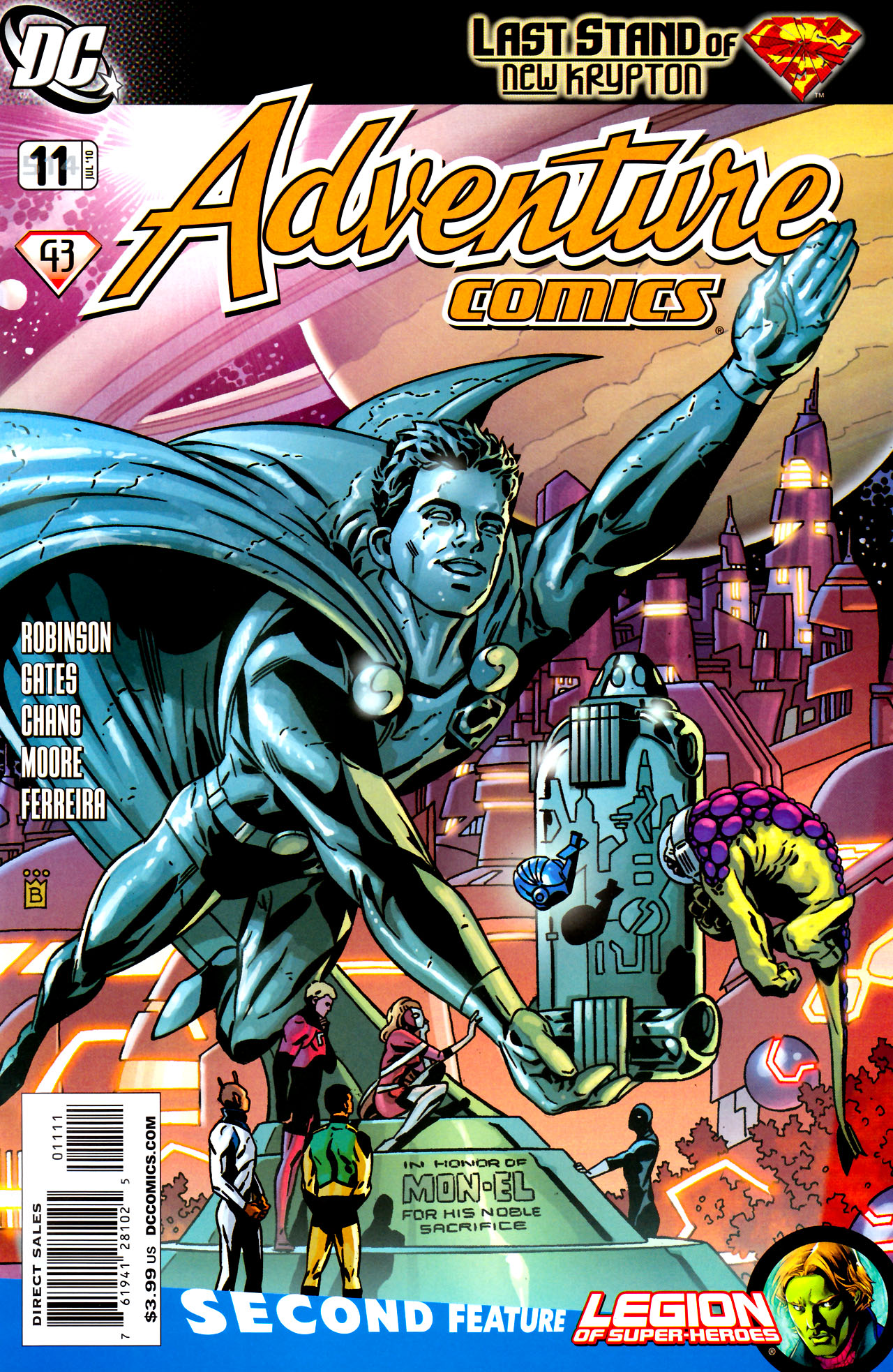 Adventure Comics (2009) 11 Page 1