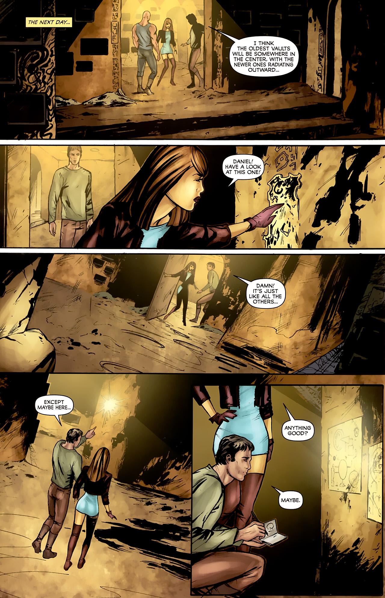 Read online Stargate: Daniel Jackson comic -  Issue #4 - 10