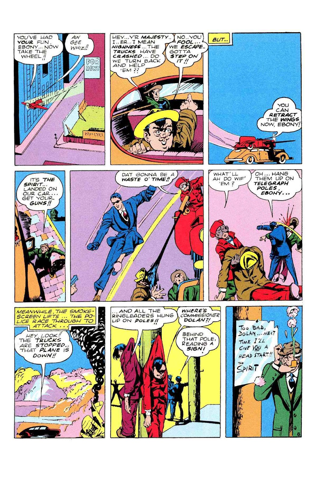 Read online Will Eisner's The Spirit Archives comic -  Issue # TPB 2 (Part 2) - 44
